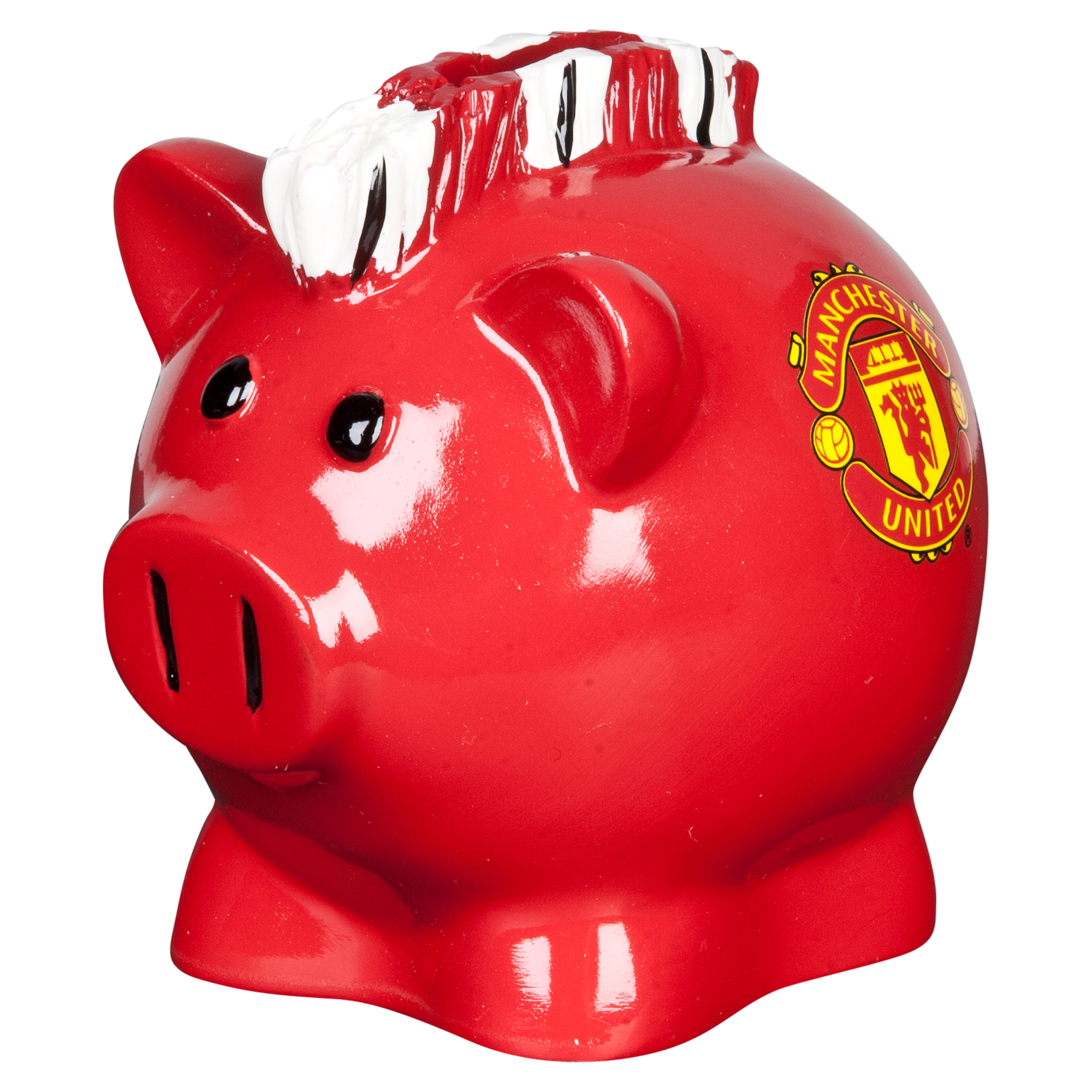 Manchester United Mohawk Piggy Bank