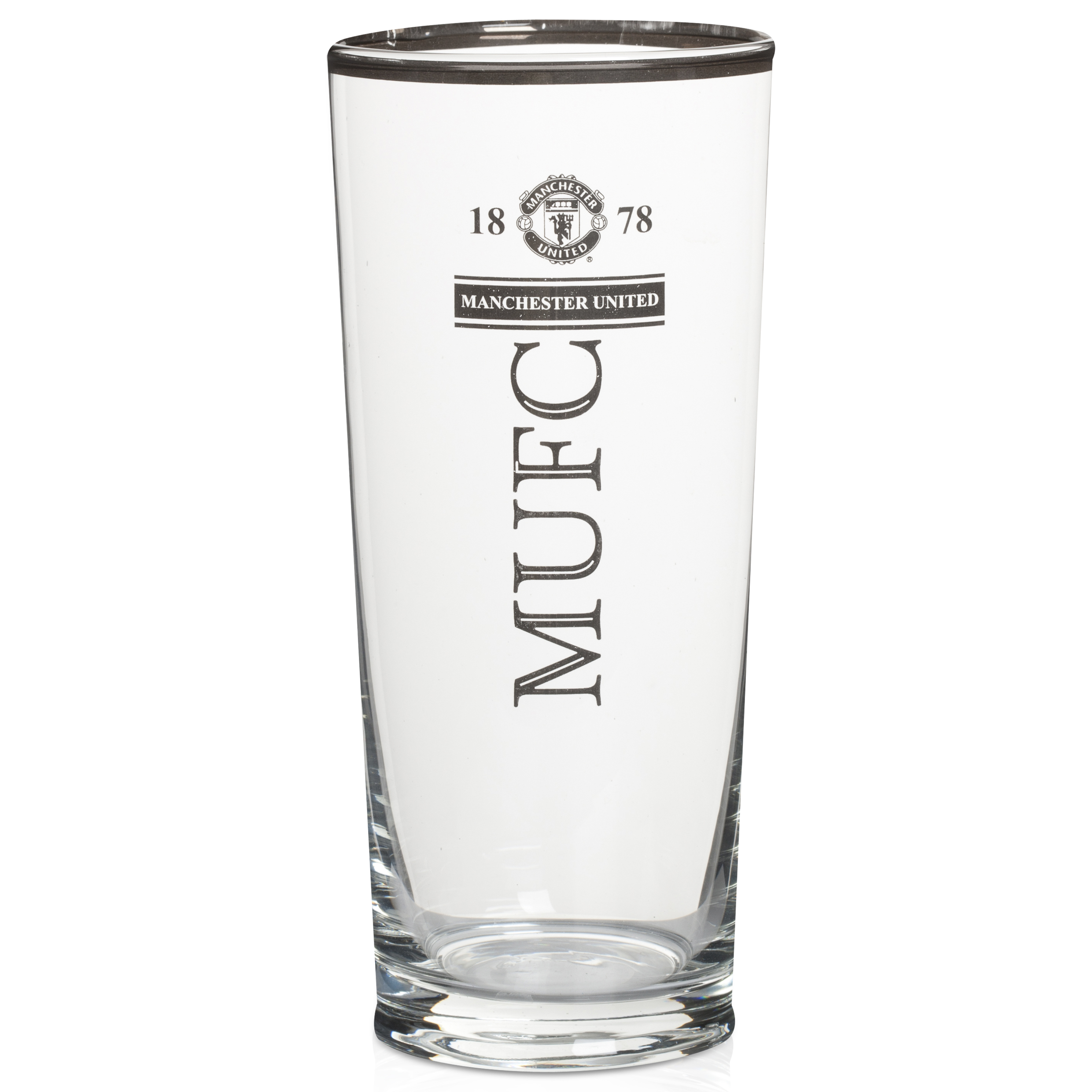 Manchester United Premium Pint Glass