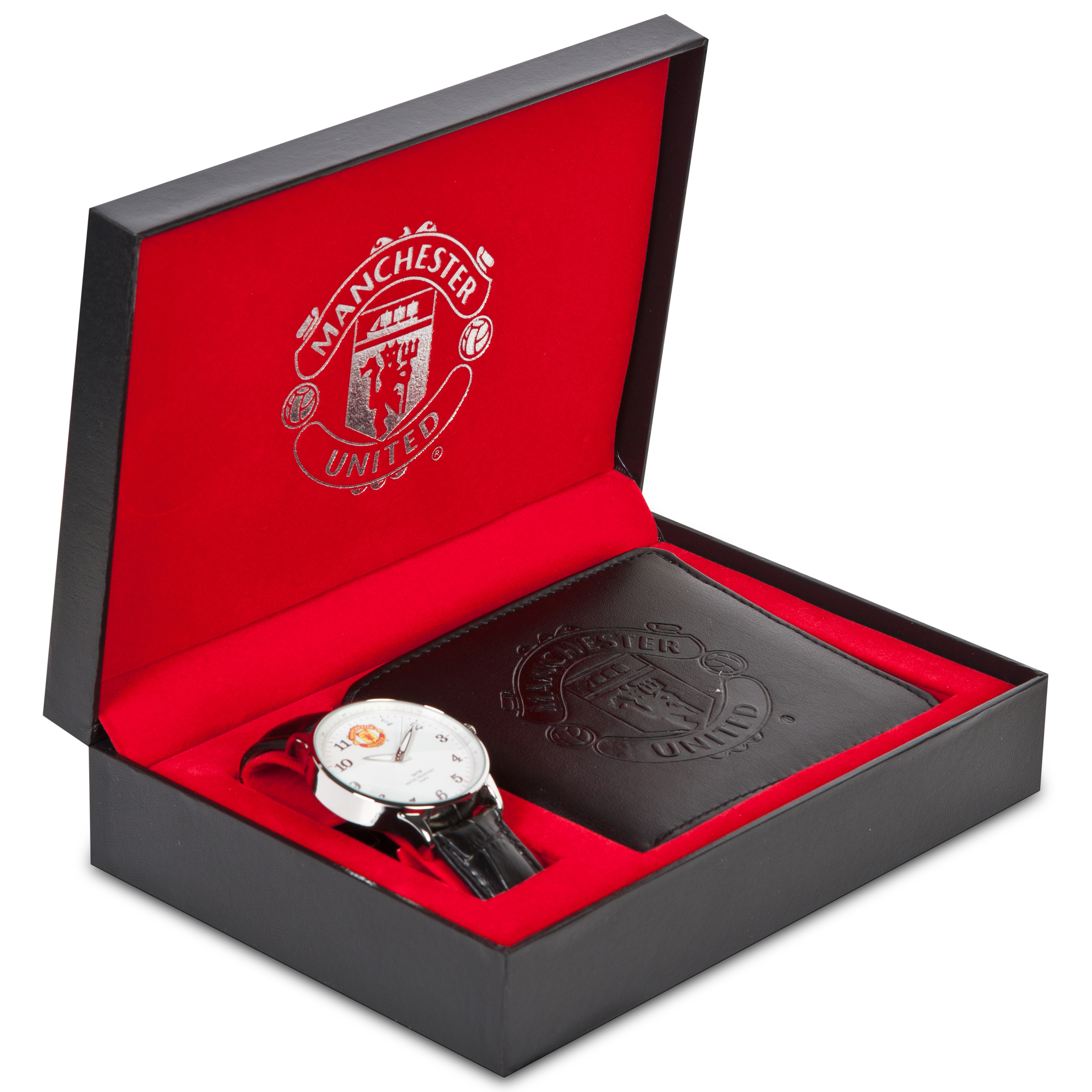 Manchester United Watch & Wallet Set