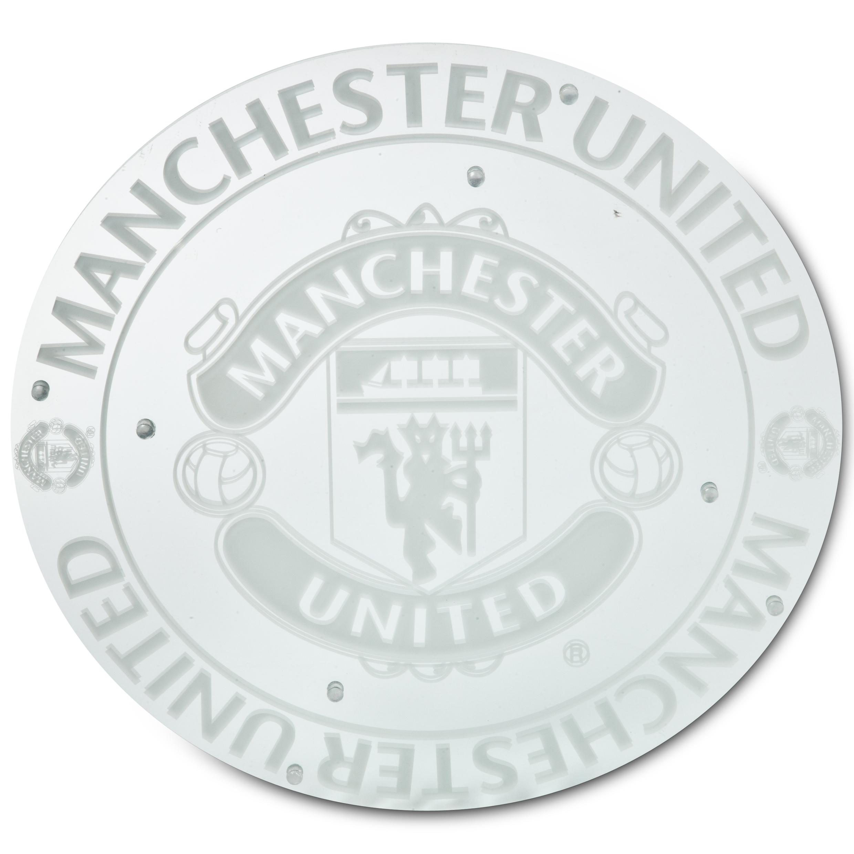 Manchester United Crest Mirror