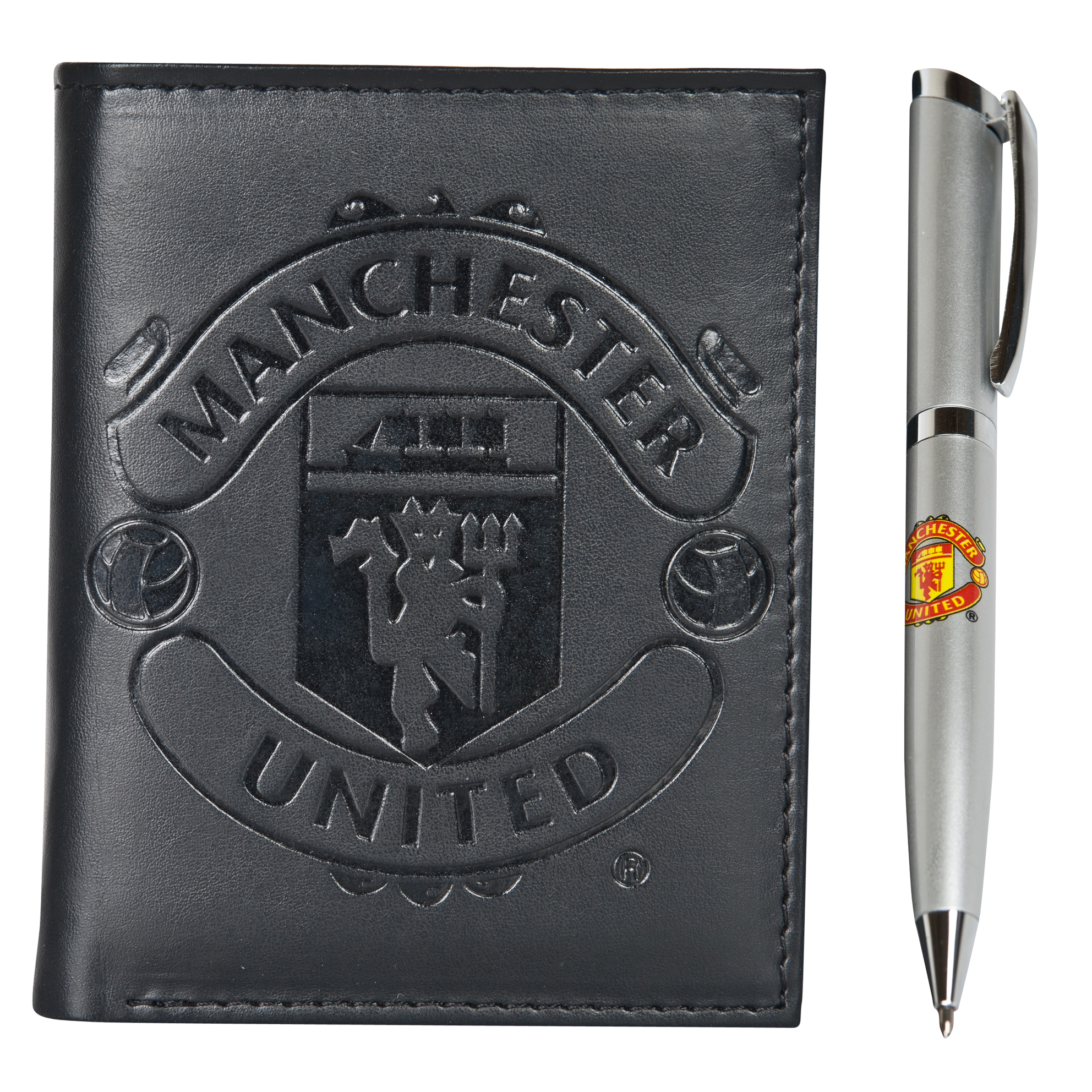 Manchester United Wallet and Pen Set