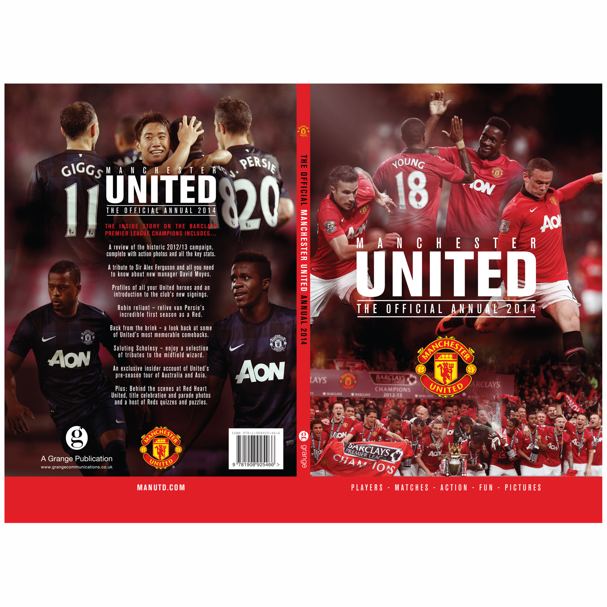 Manchester United Official 2014 Annual