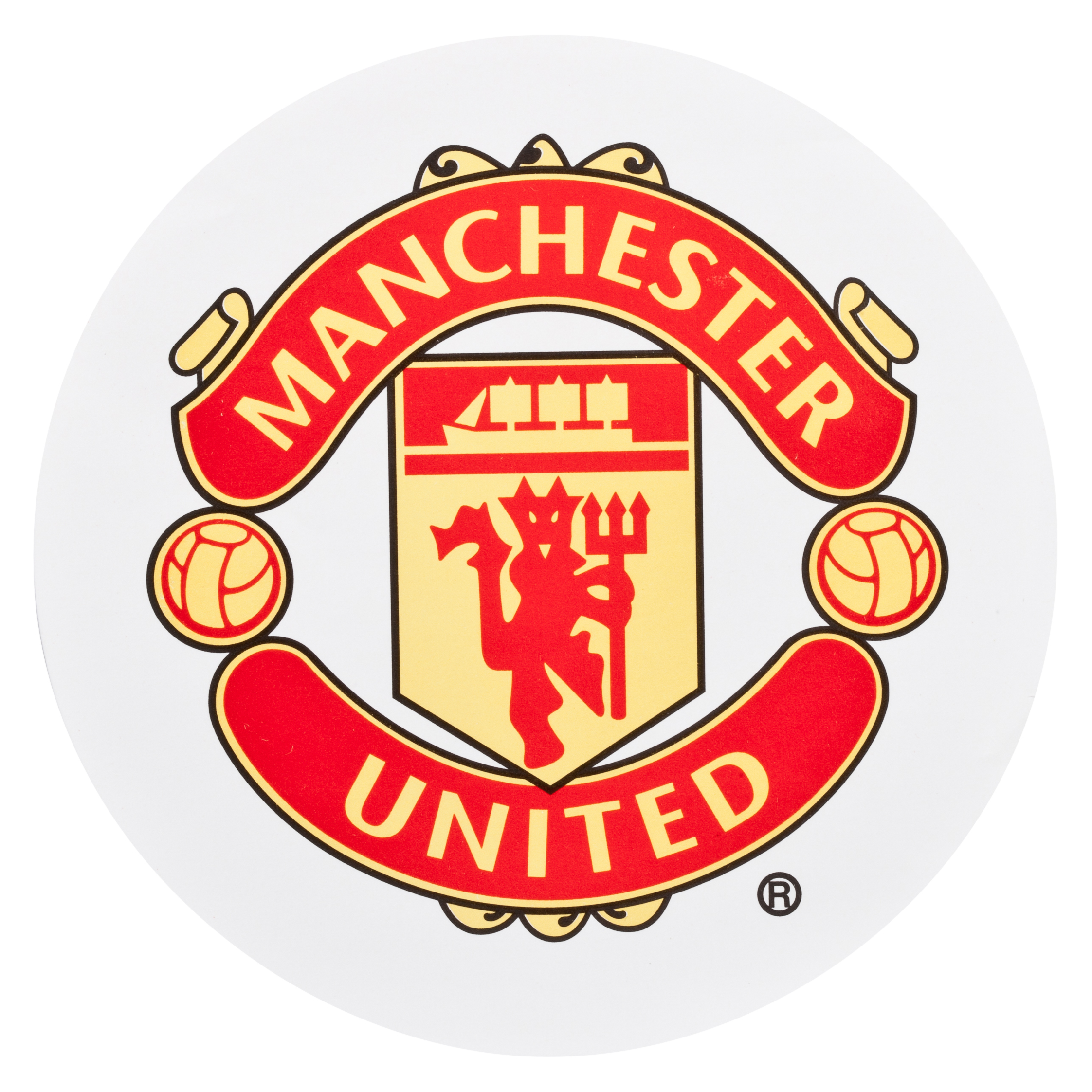 Manchester United Crest Car Sticker