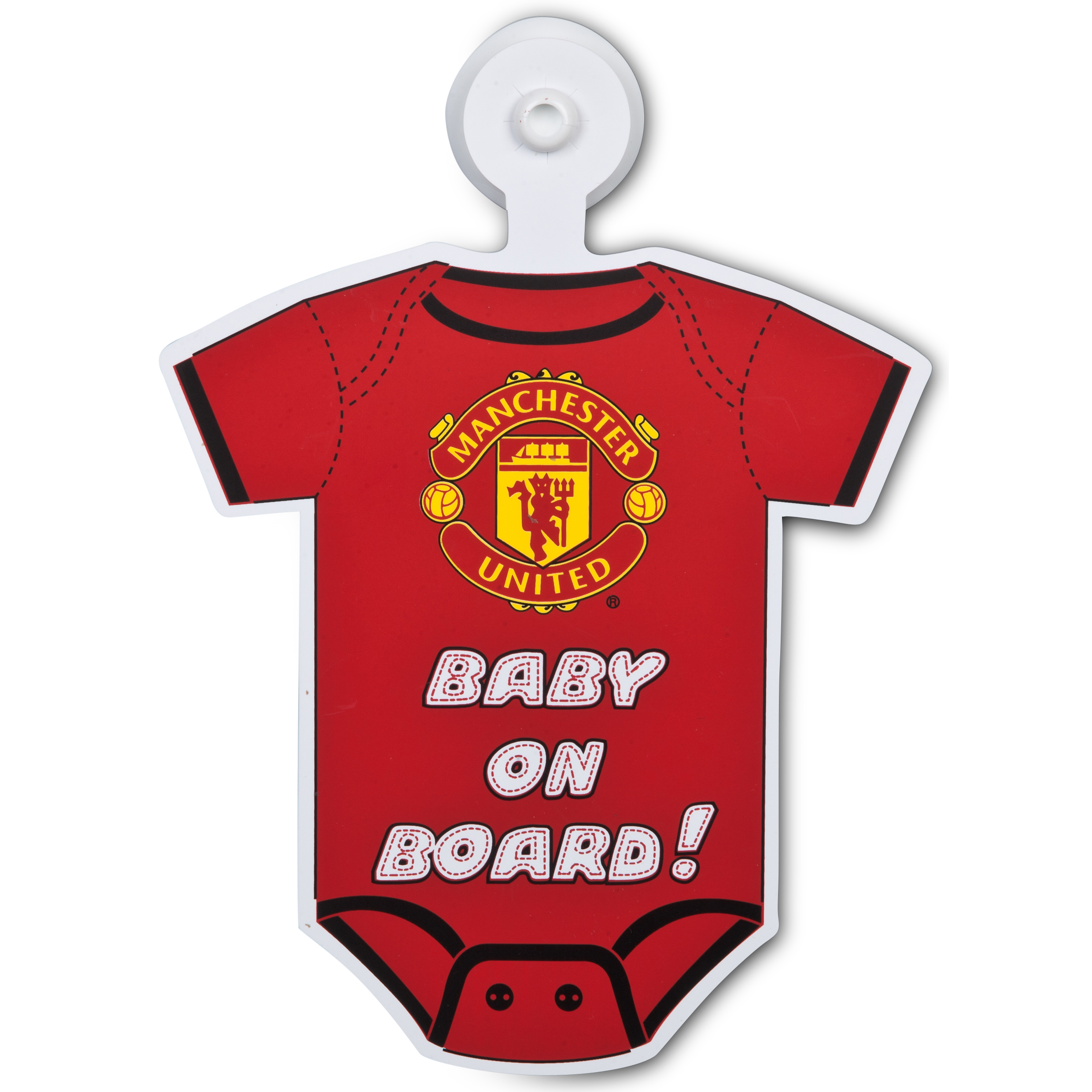 Manchester United Baby On Board Car Hanger