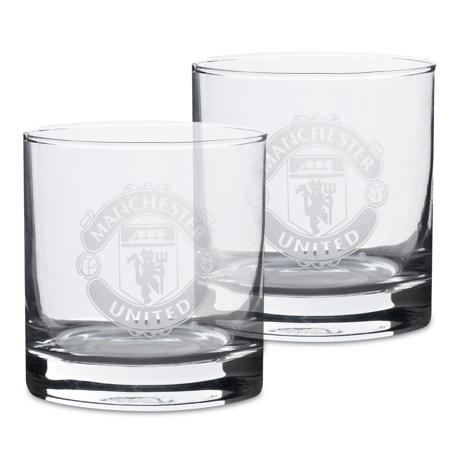 Manchester United Whiskey Glasses - 2 Pack