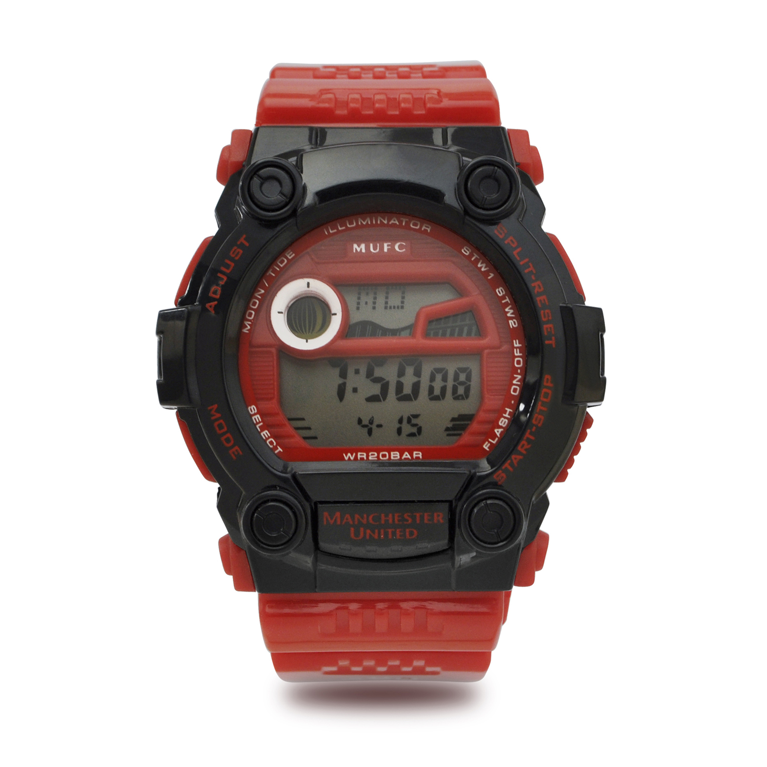Manchester United Digital Watch - Red/Black