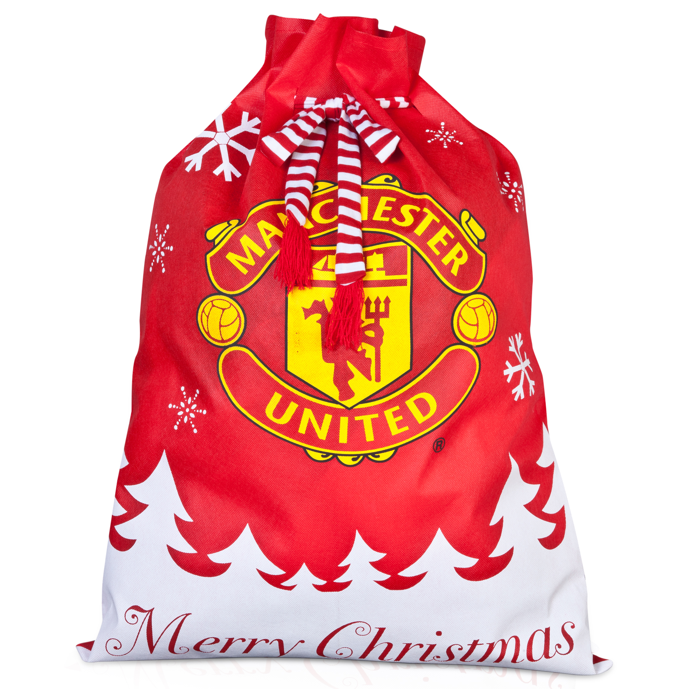 Manchester United Christmas Luxury Present Sack