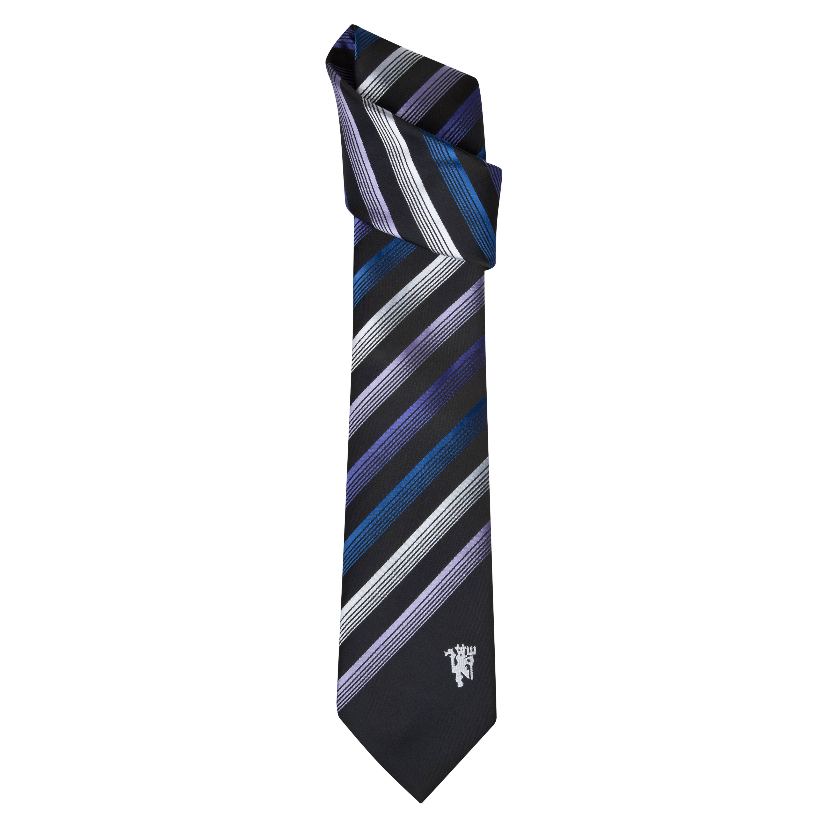 Manchester United Fashion Stripe Tie - Polyester