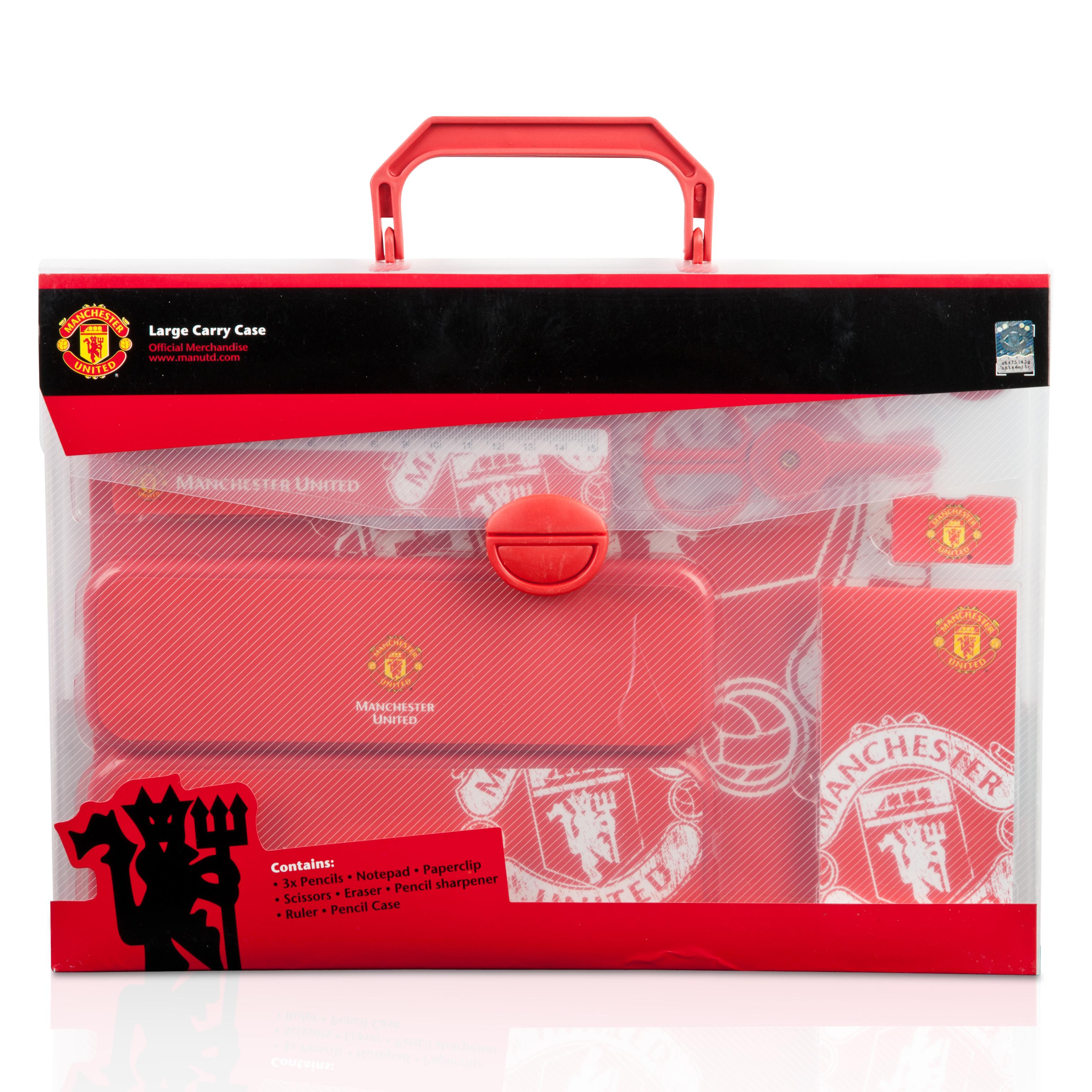 Manchester United Stationery Large Gift Set