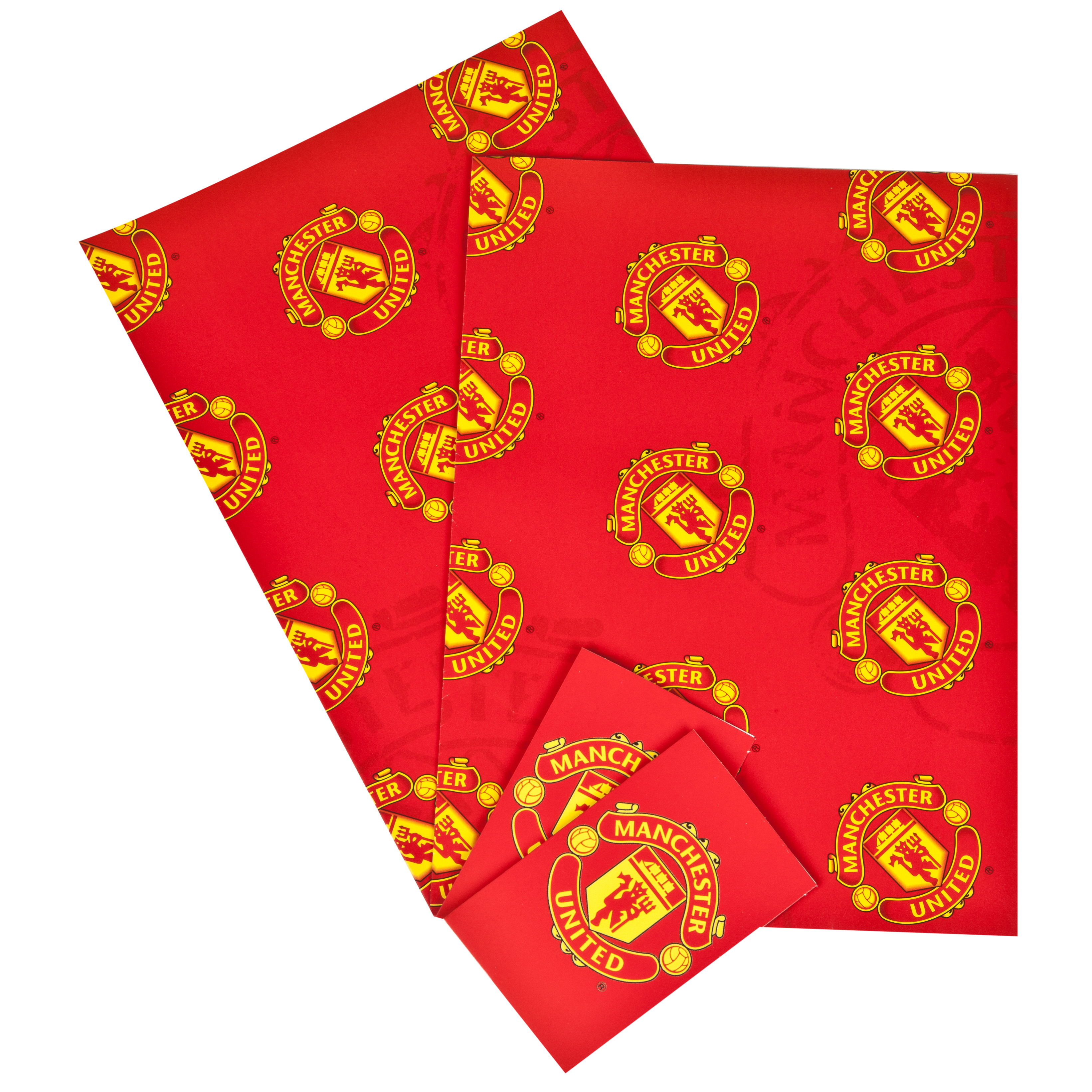 Manchester United Card & Gift Wrap