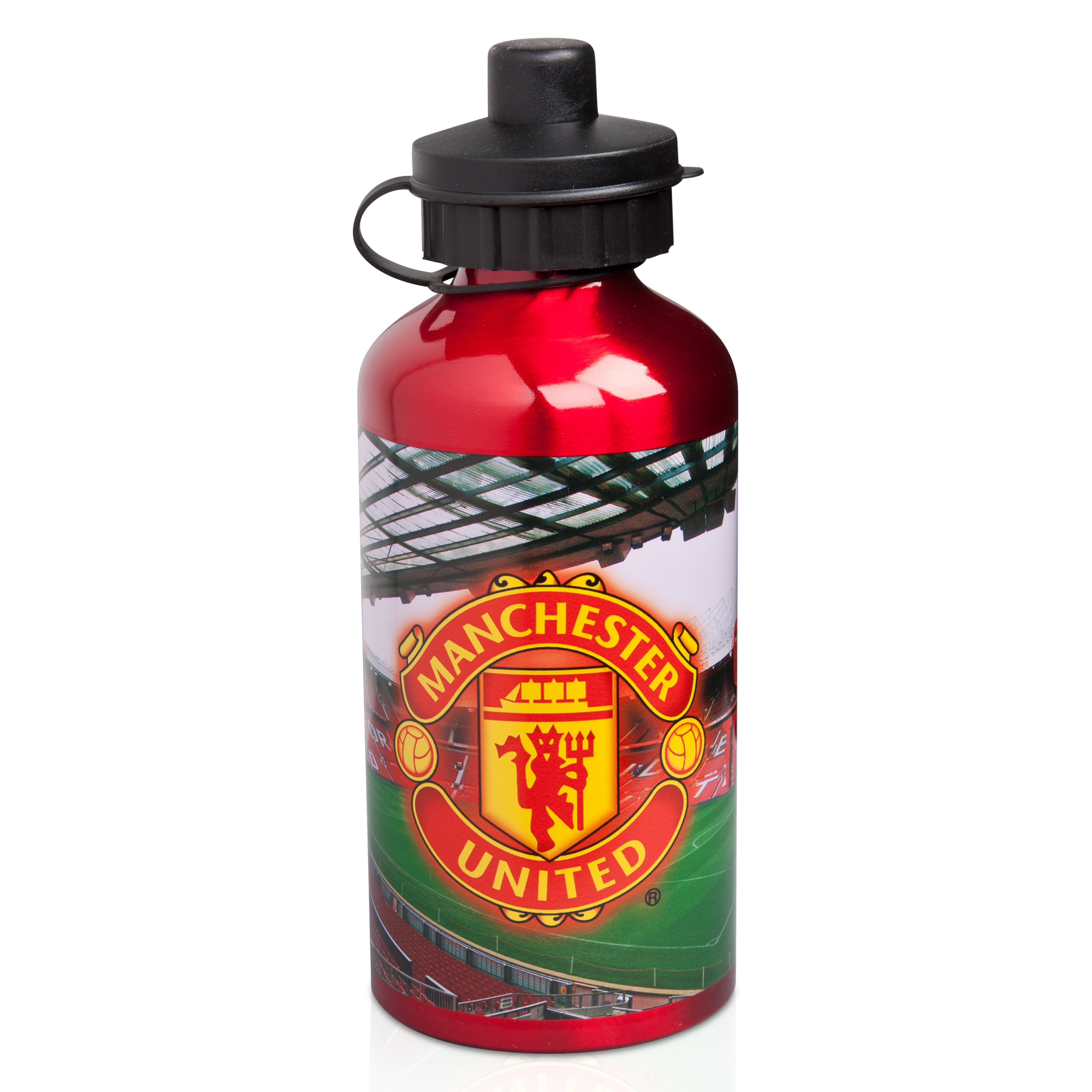 Manchester United 500ml Aluminium Stadium Water Bottle