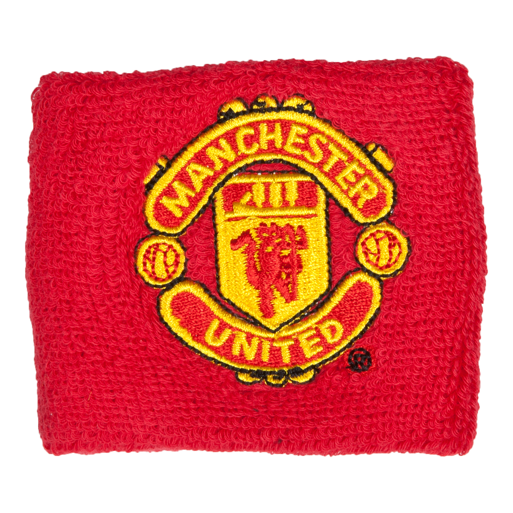 Manchester United Single Wristband Red