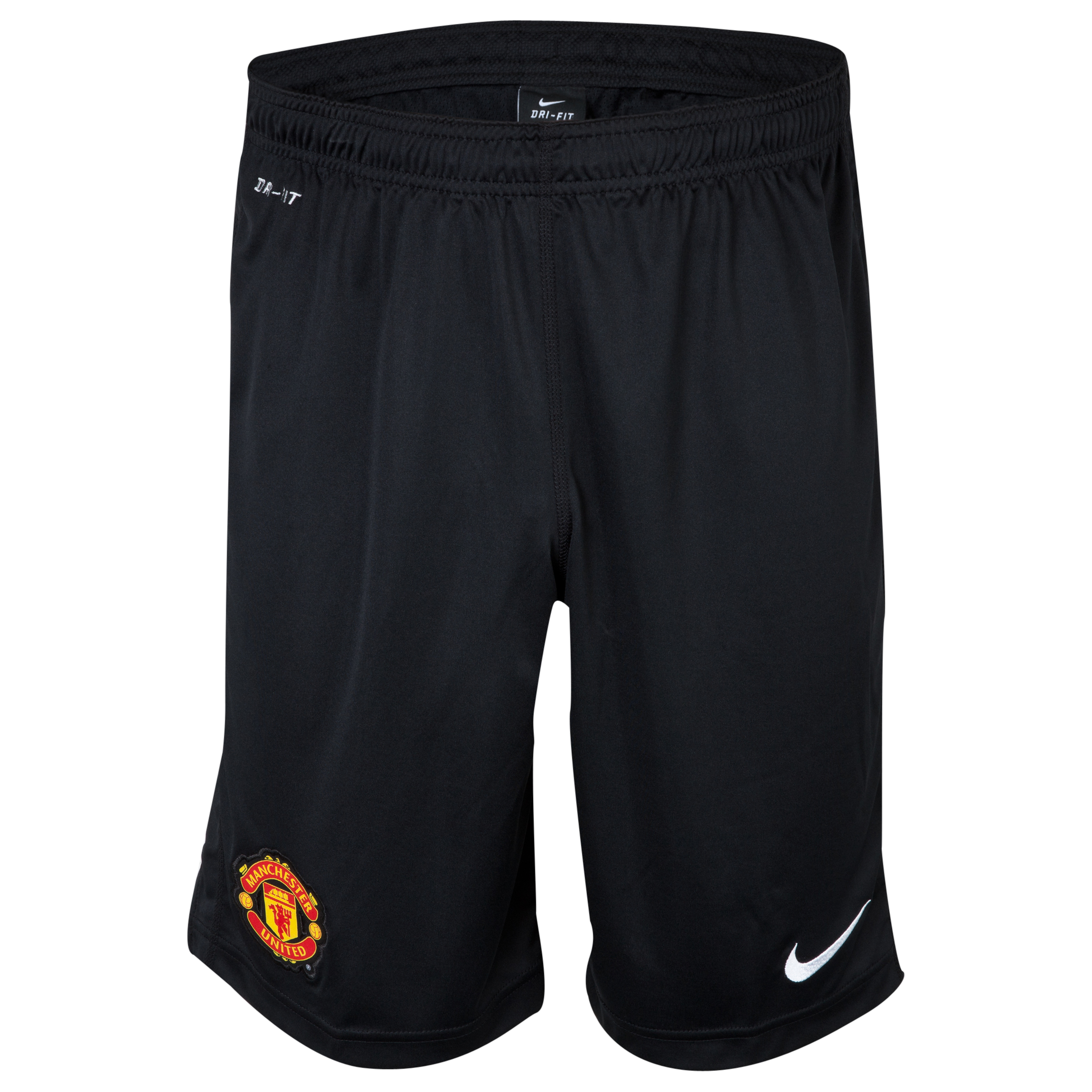 Manchester United Squad Longer Knit Short Black