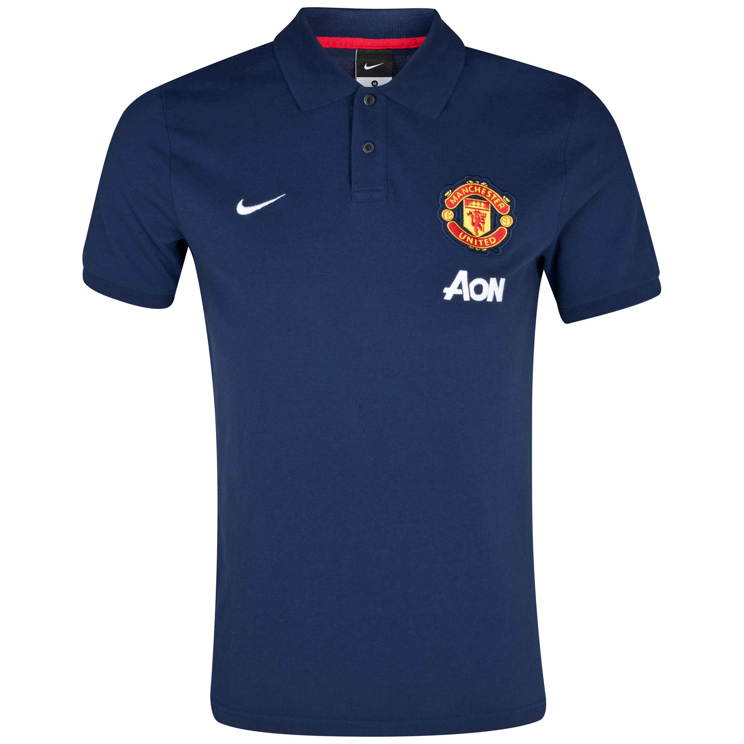 Manchester United Authentic Grand Slam Polo Blue