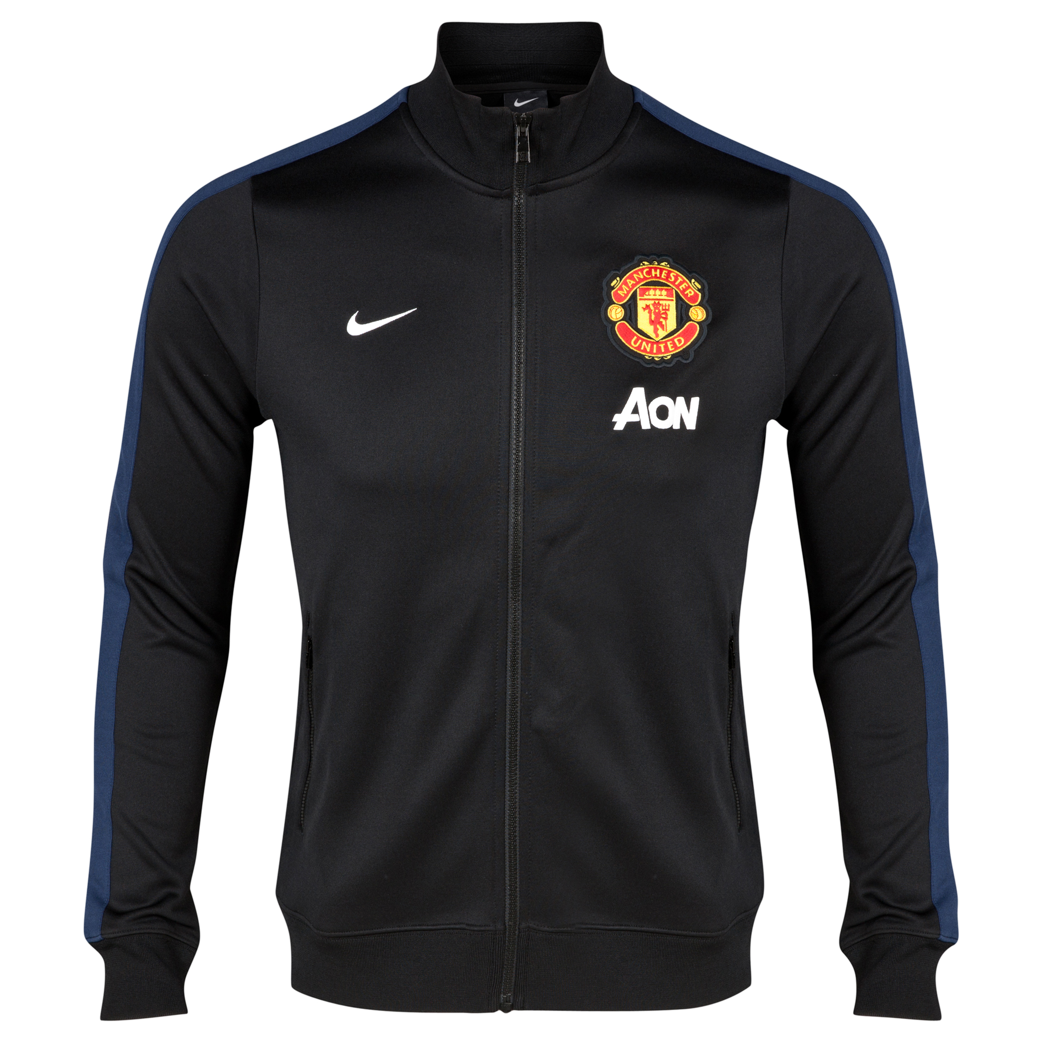 Manchester United Authentic N98 Jacket Black