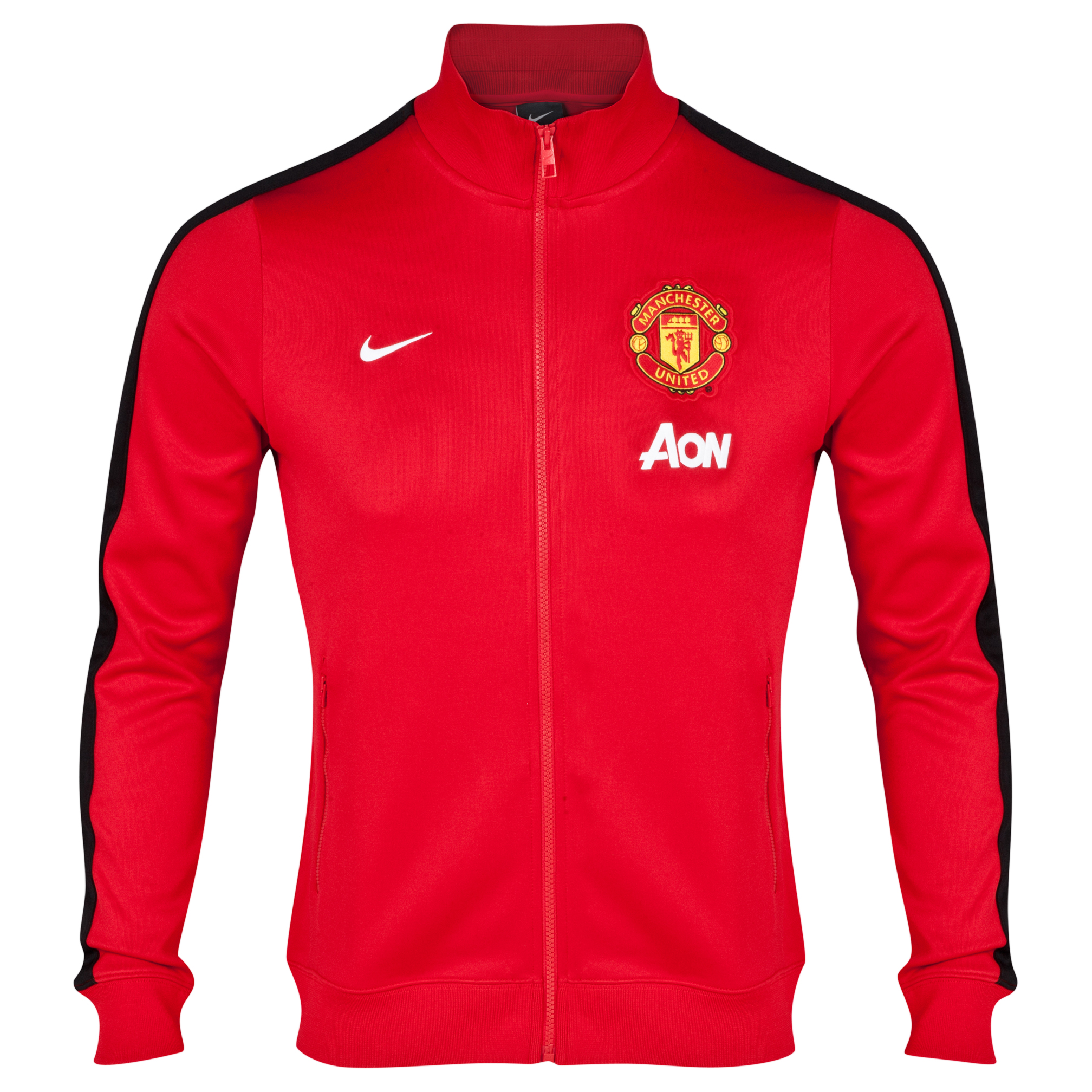 Manchester United Authentic N98 Jacket Red