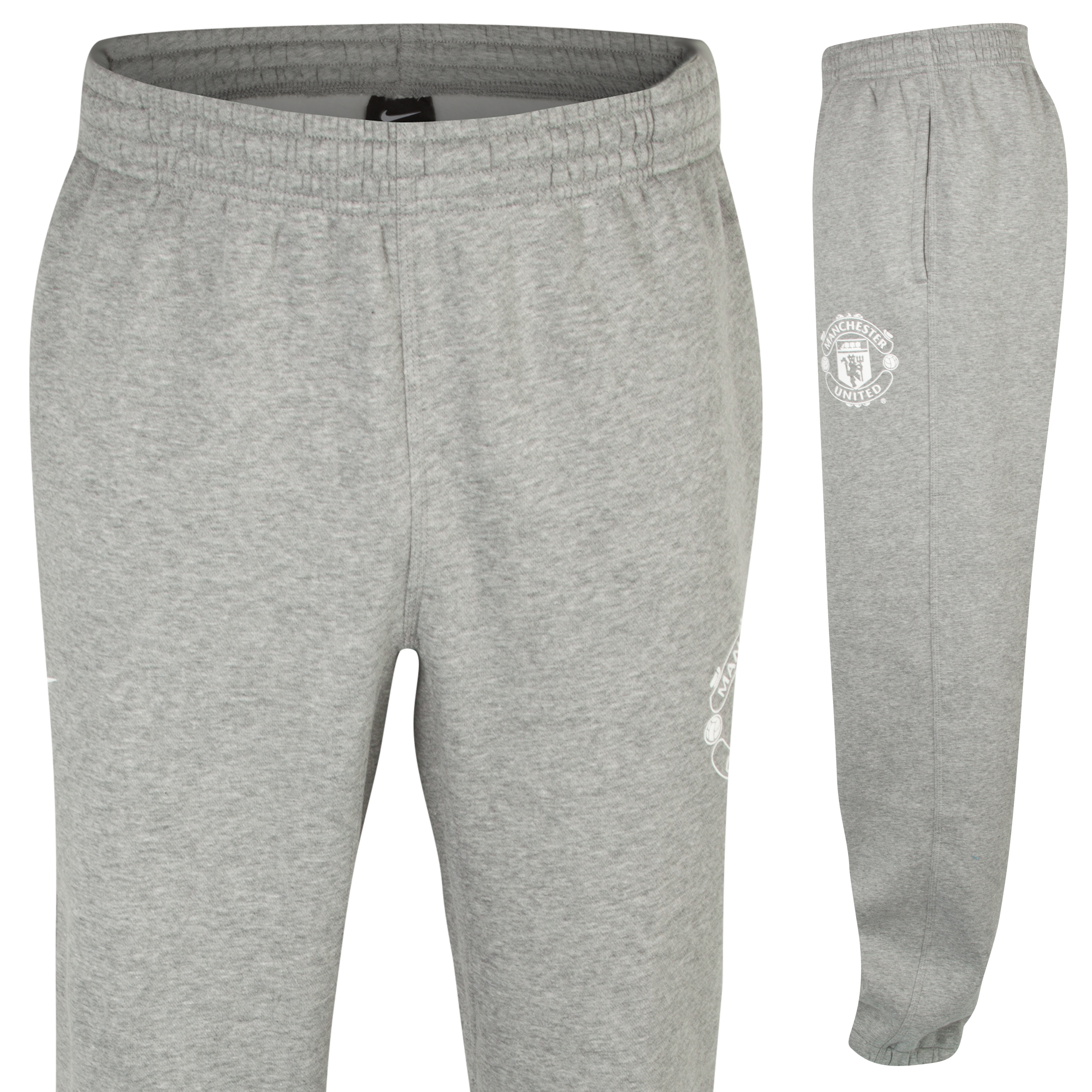 Manchester United Core Fleece Cuff Pant Dk Grey