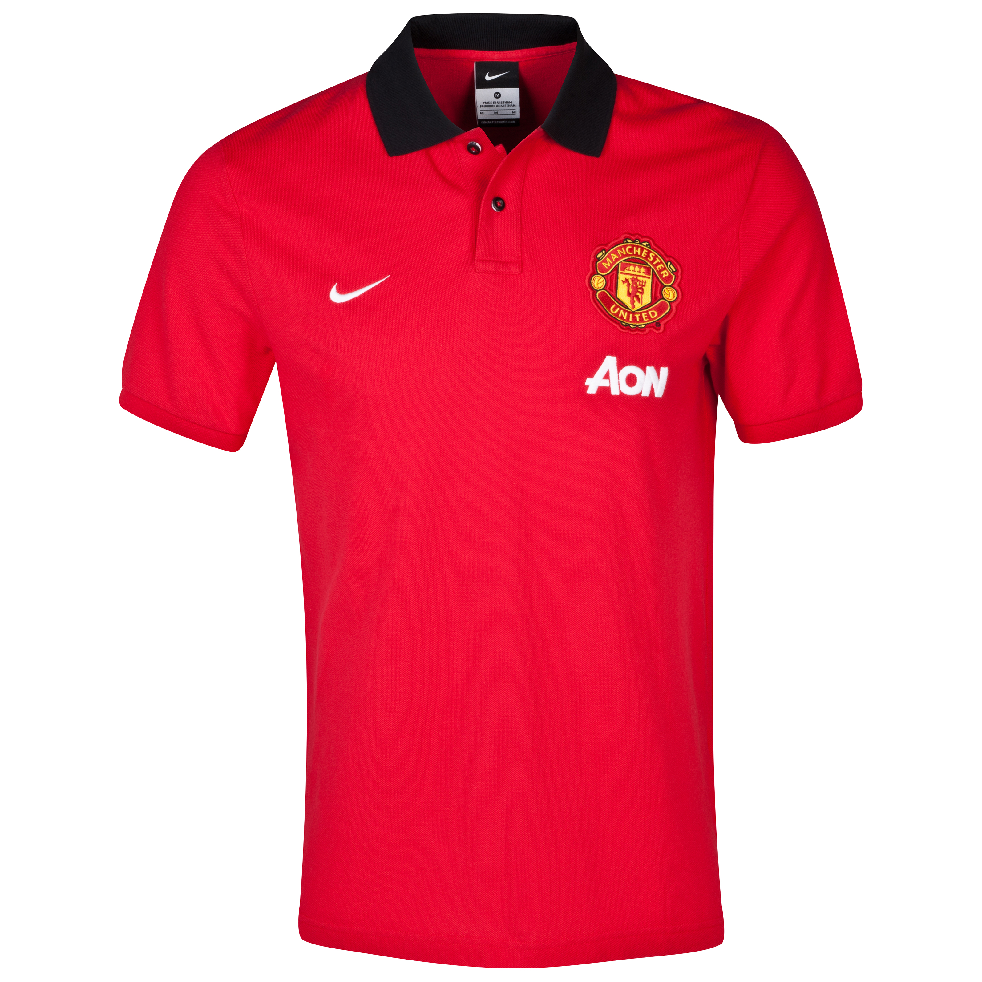 Manchester United Authentic Grand Slam Polo Silver