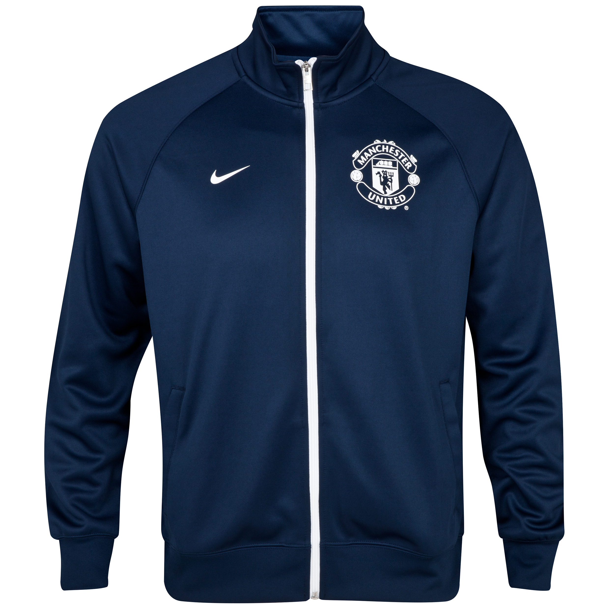 Manchester United Core Trainer Jacket Navy