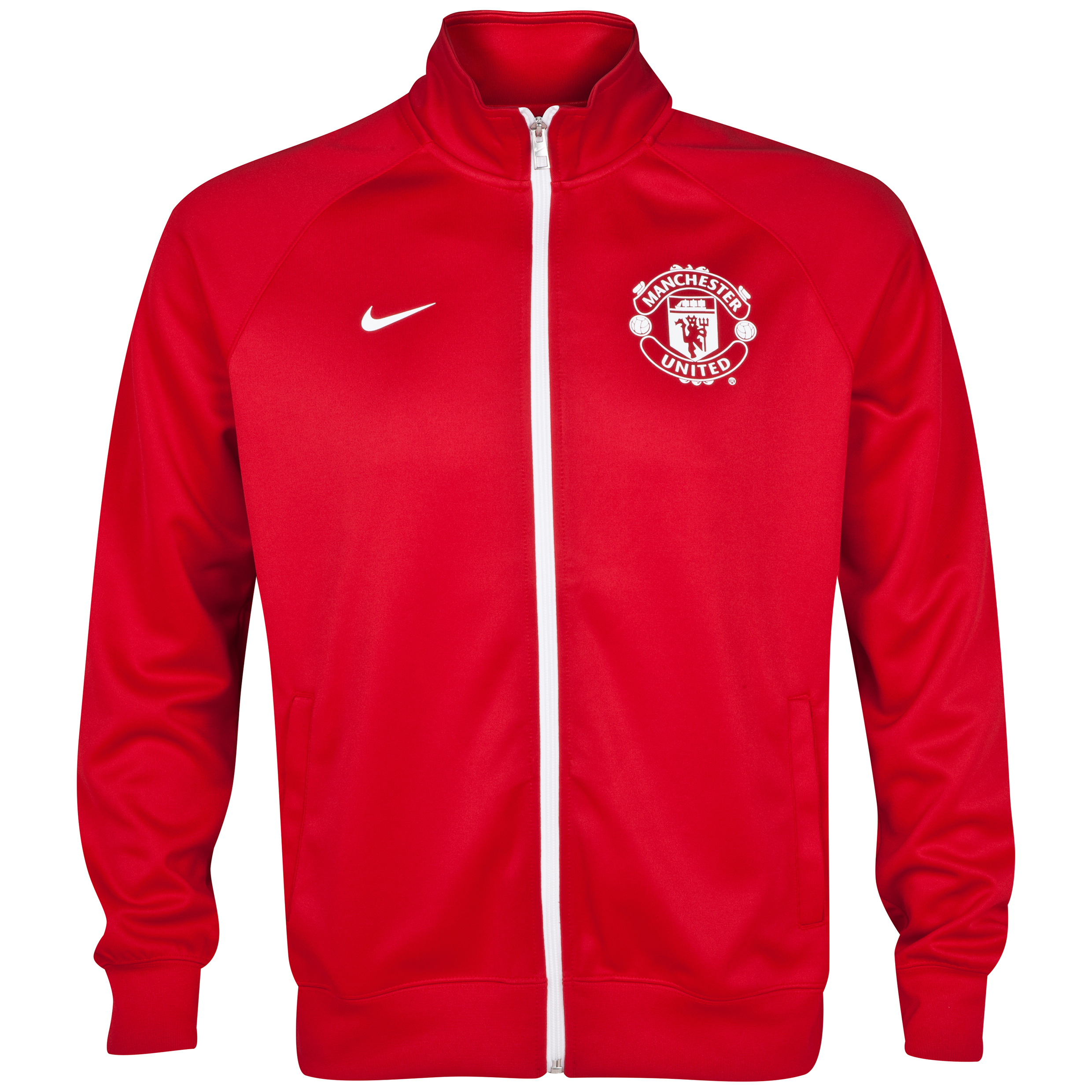 Manchester United Core Trainer Jacket Red