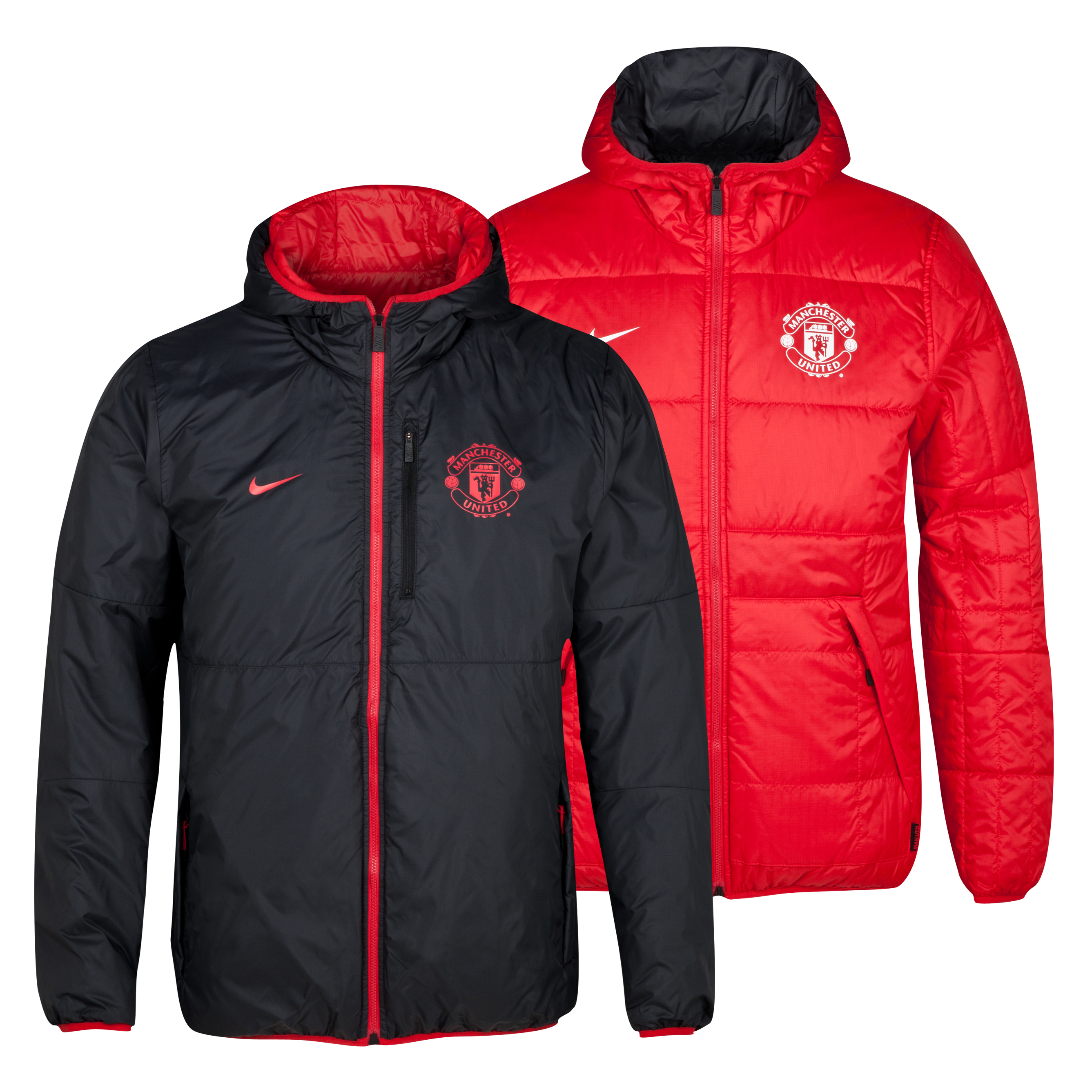 Veste Reversible Alliance Manchester United - Rouge Diablo/Noir/Blanc