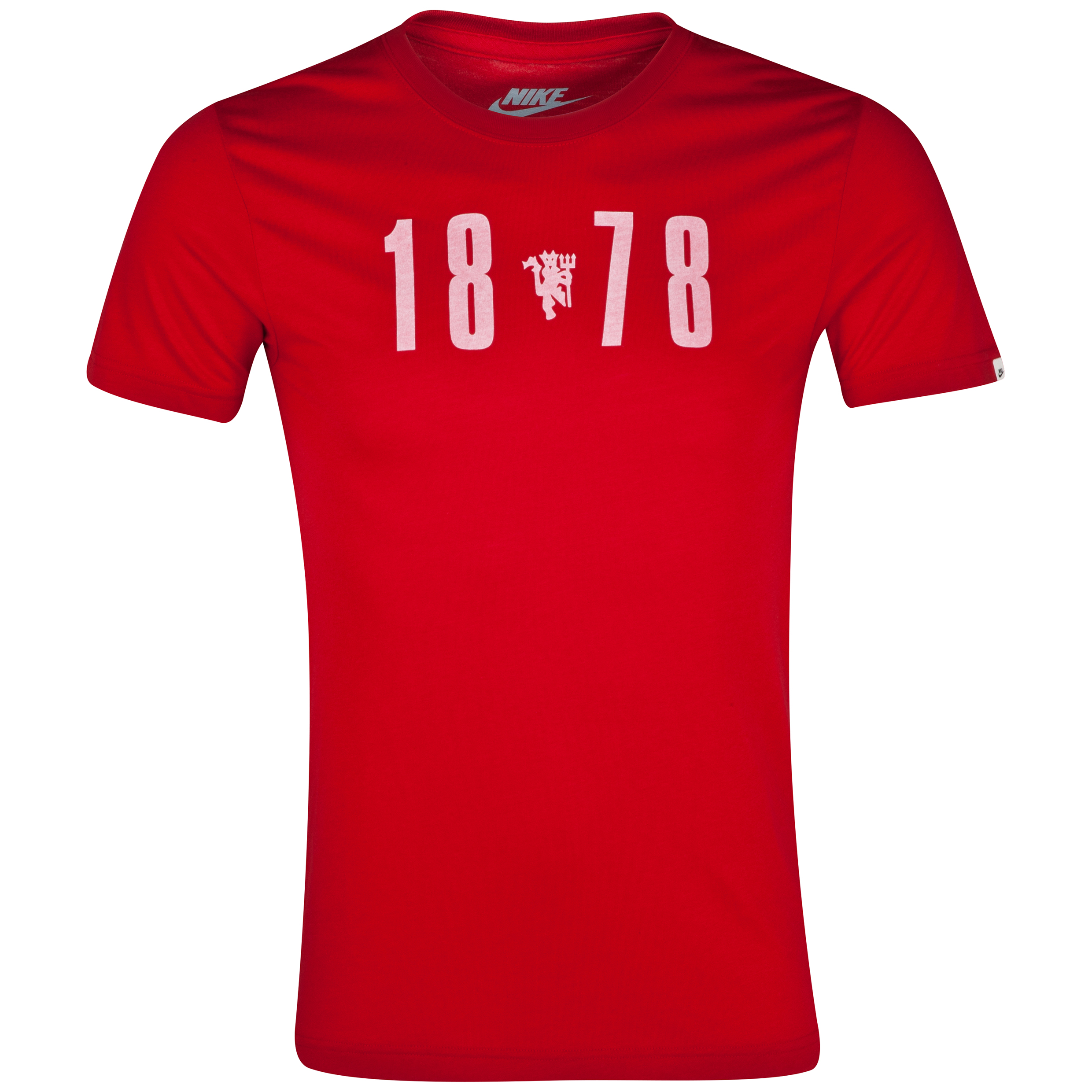 Manchester United Covert Graphic T-Shirt Red