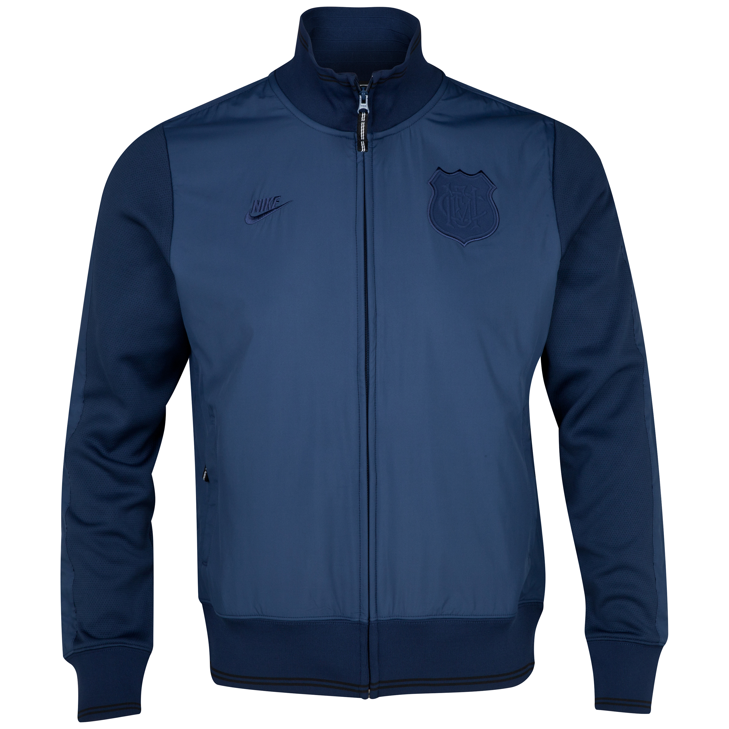 Manchester United Covert Knit N98 Jacket Navy