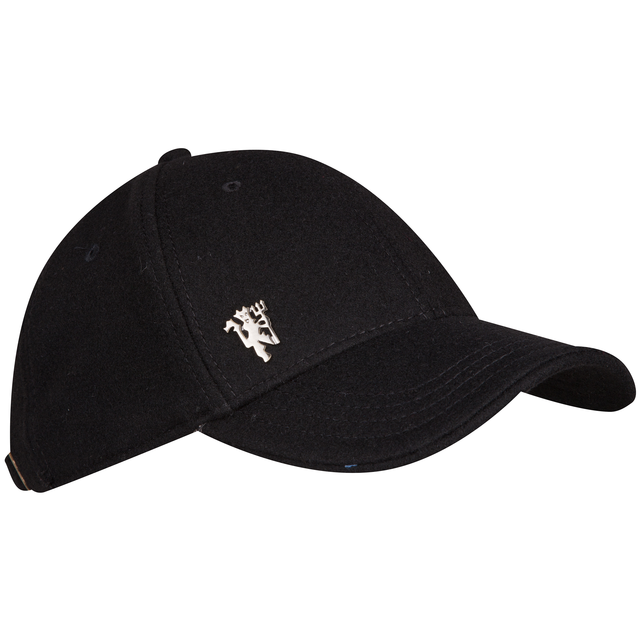 Manchester United Devil Melton Wool Cap Black