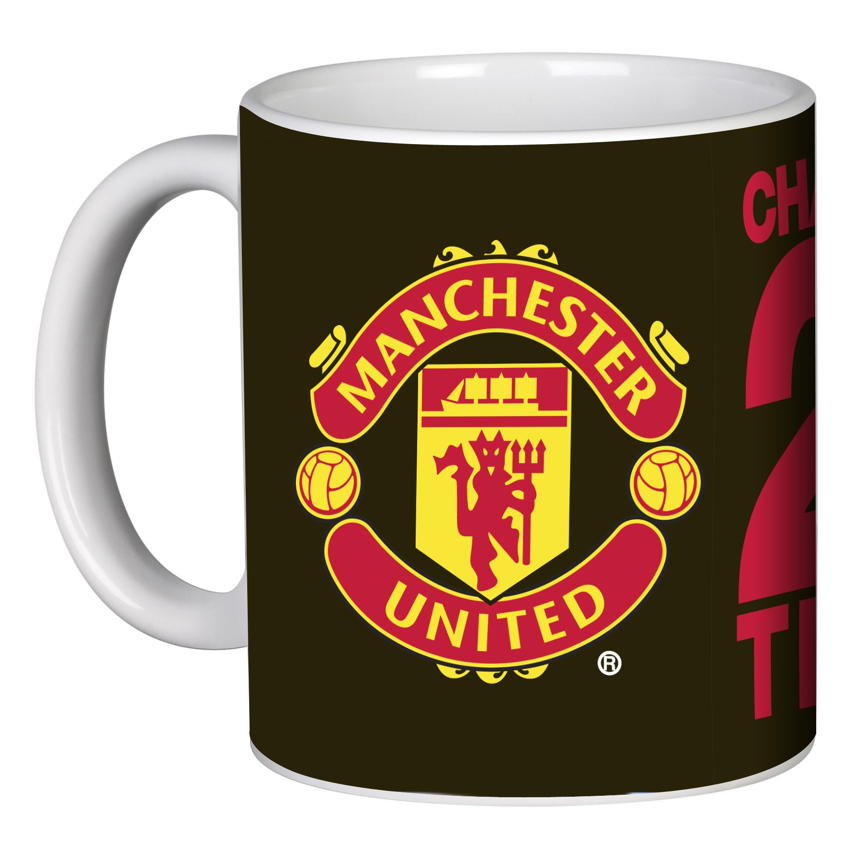 Manchester United 20 League Titles Mug