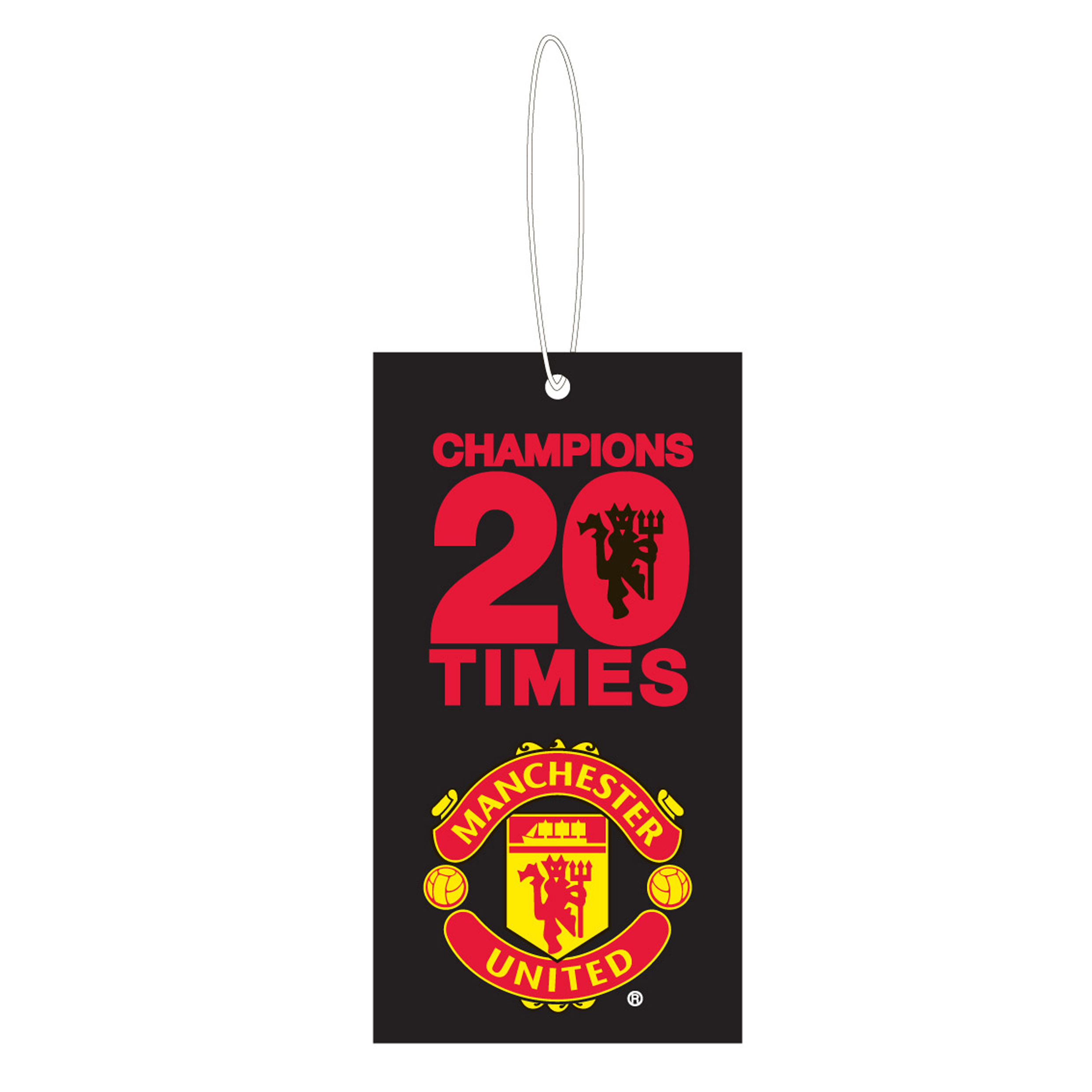 Manchester United 20 League Titles Car Air Freshener
