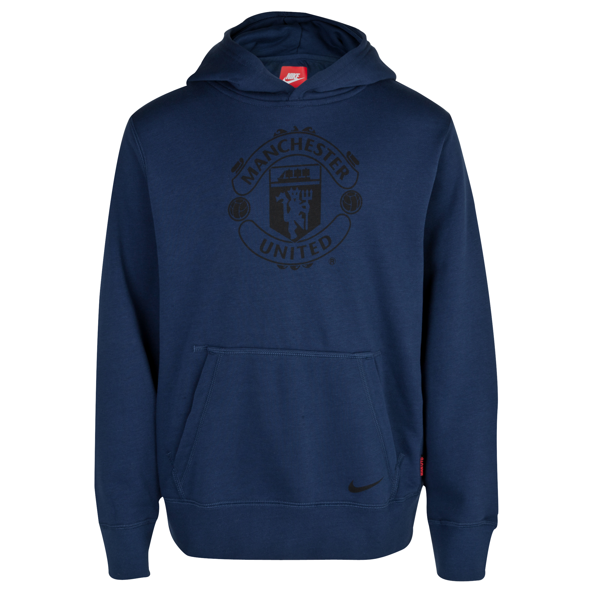 Manchester United Core Hoody - Kids Navy