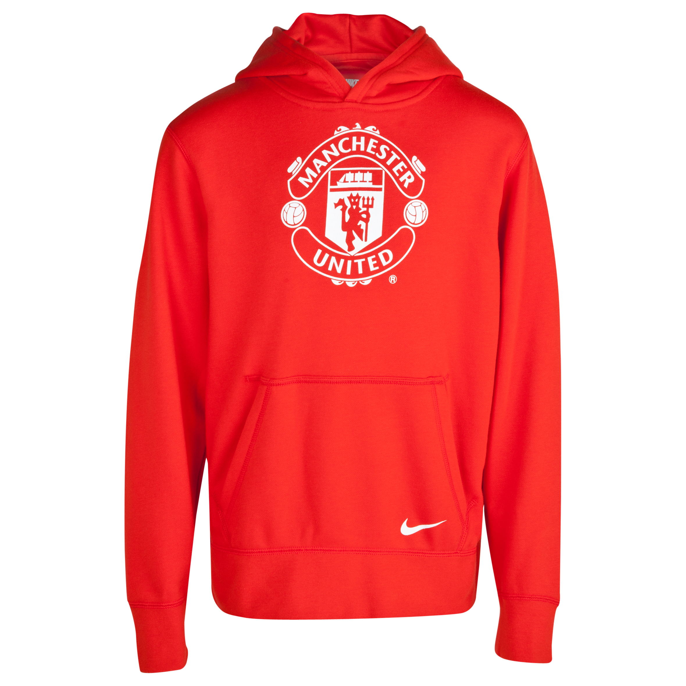 Manchester United Core Hoody - Kids Red
