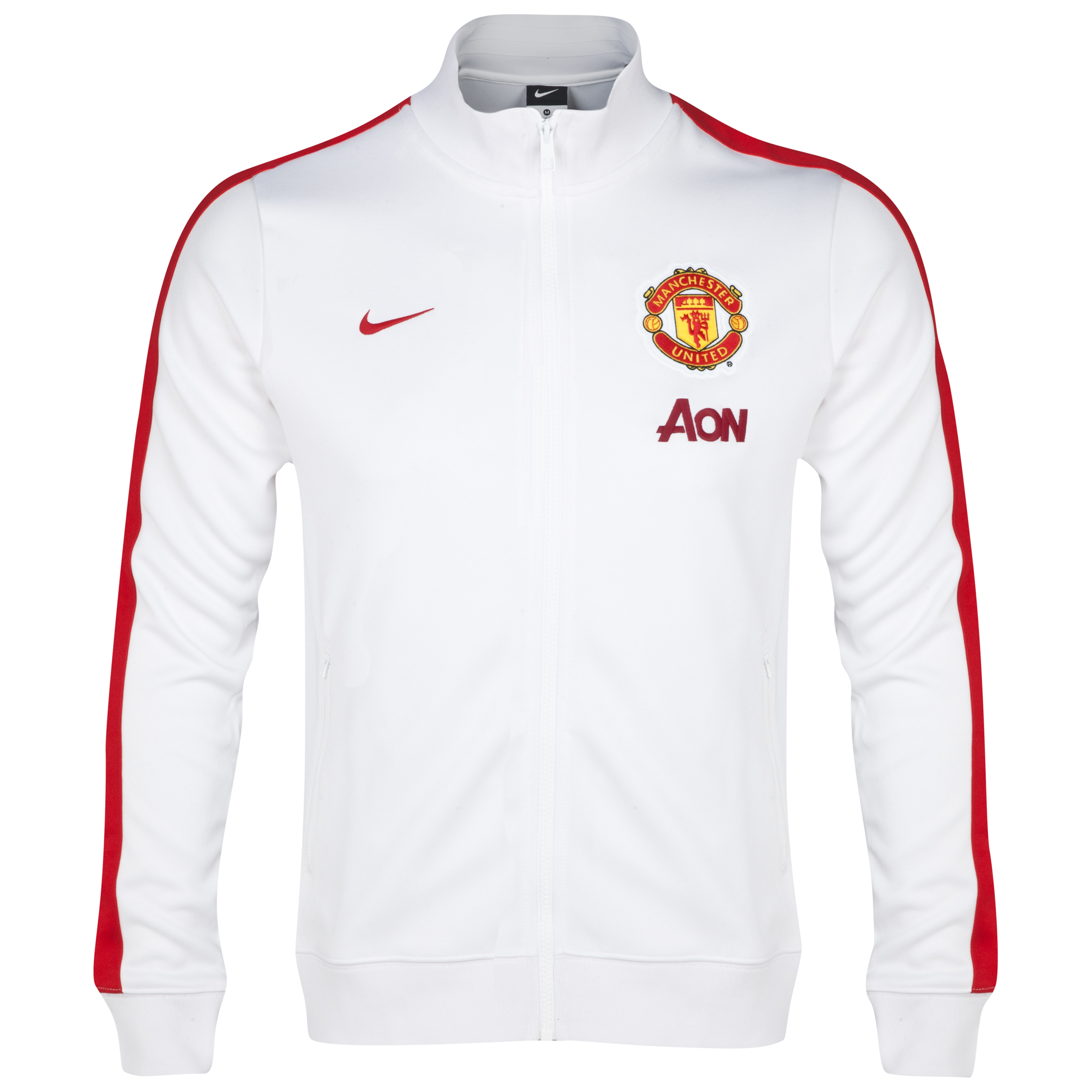 Manchester United Authentic N98 Jacket - Kids White