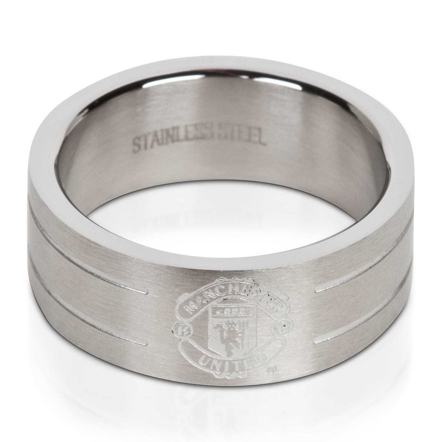 Manchester United Crest Ring - Stainless Steel
