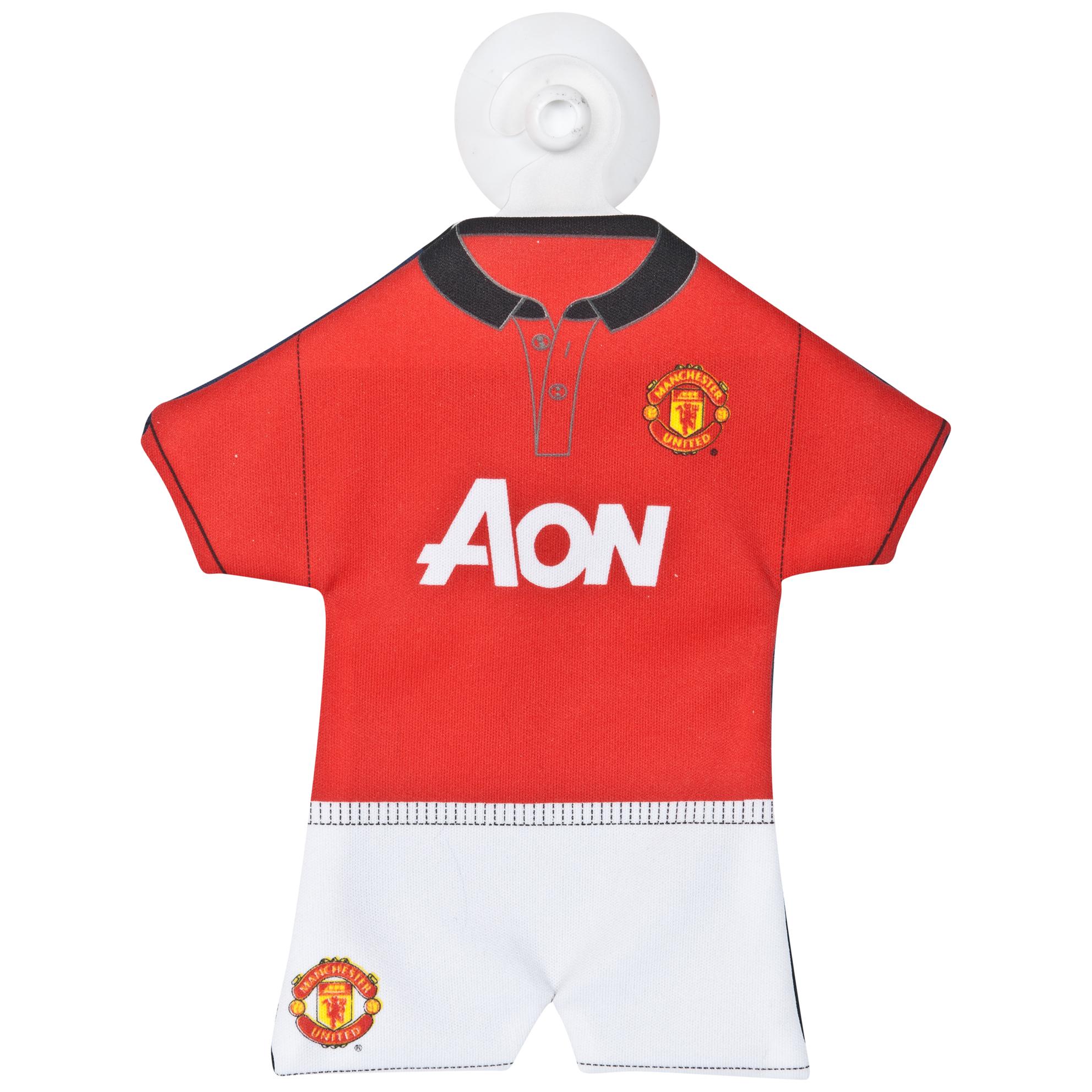 Manchester United 2013/14 Home Mini Kit Car Hanger