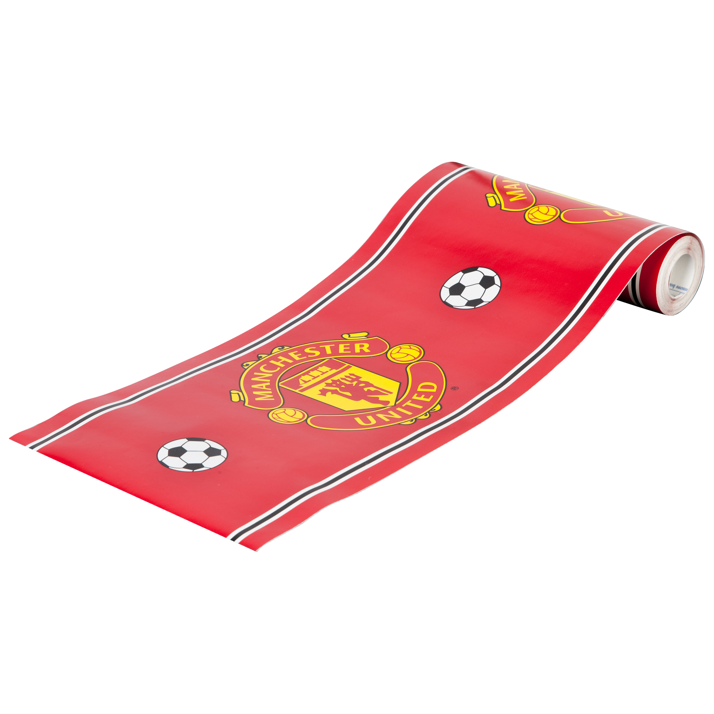 Manchester United Crest Border