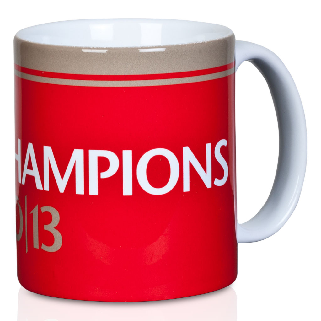 Manchester United Champions 2013 Mug