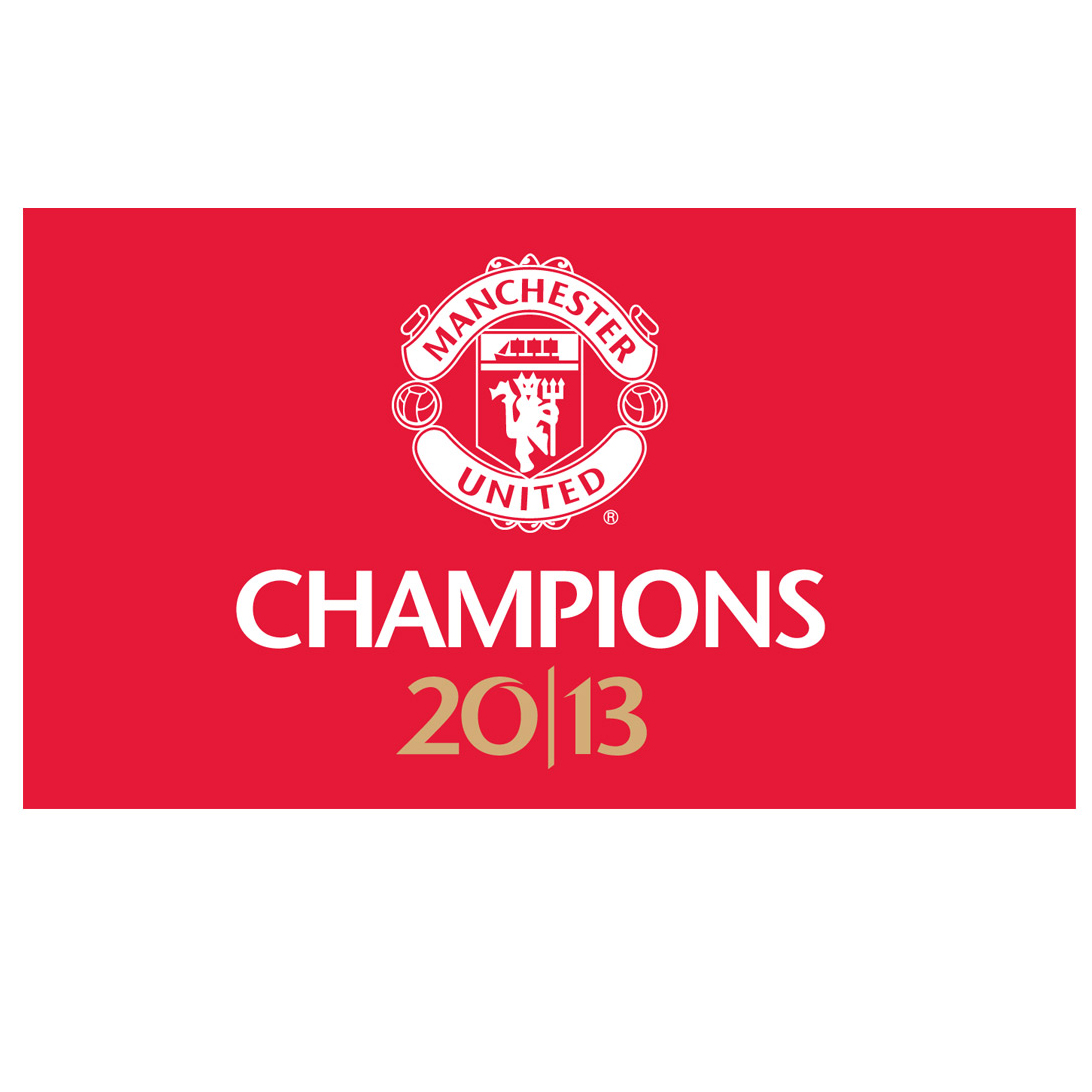 Manchester United Champions 2013 Fridge Magnet