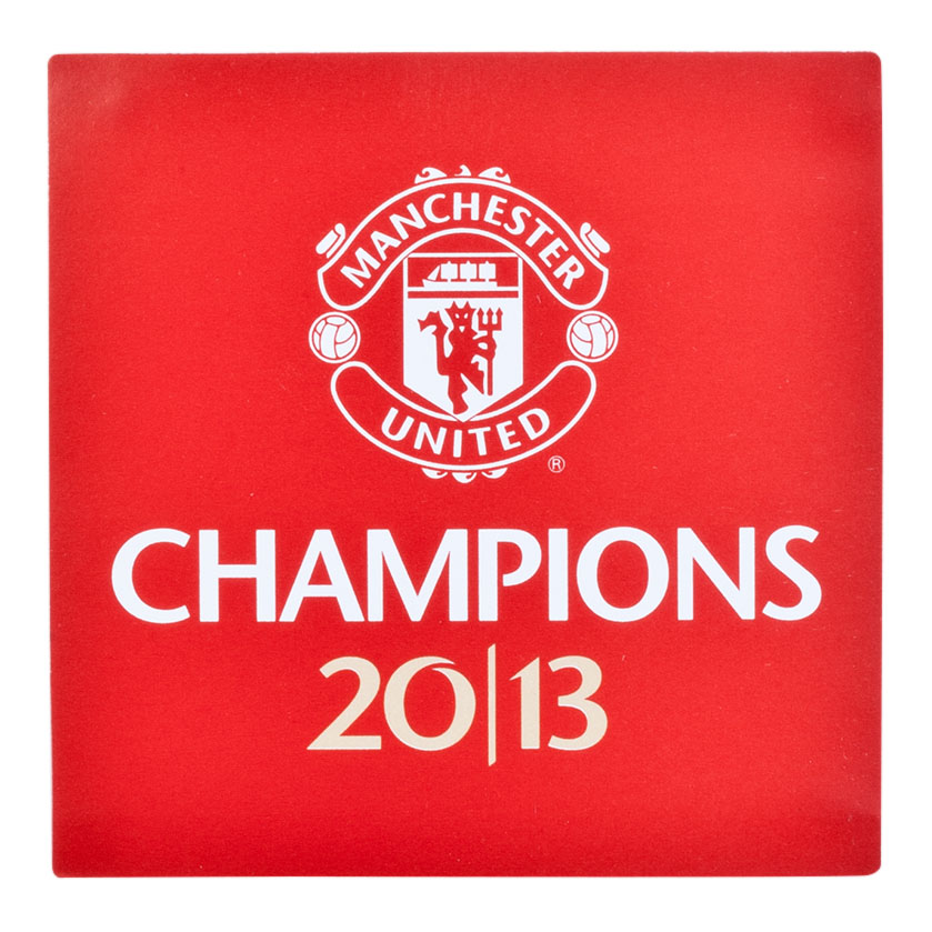 Manchester United Champions 2013 Car Sticker