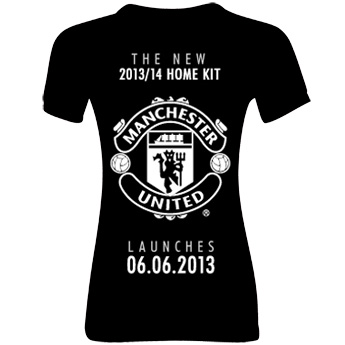 Manchester United Home Shirt 2013/14 - Womens