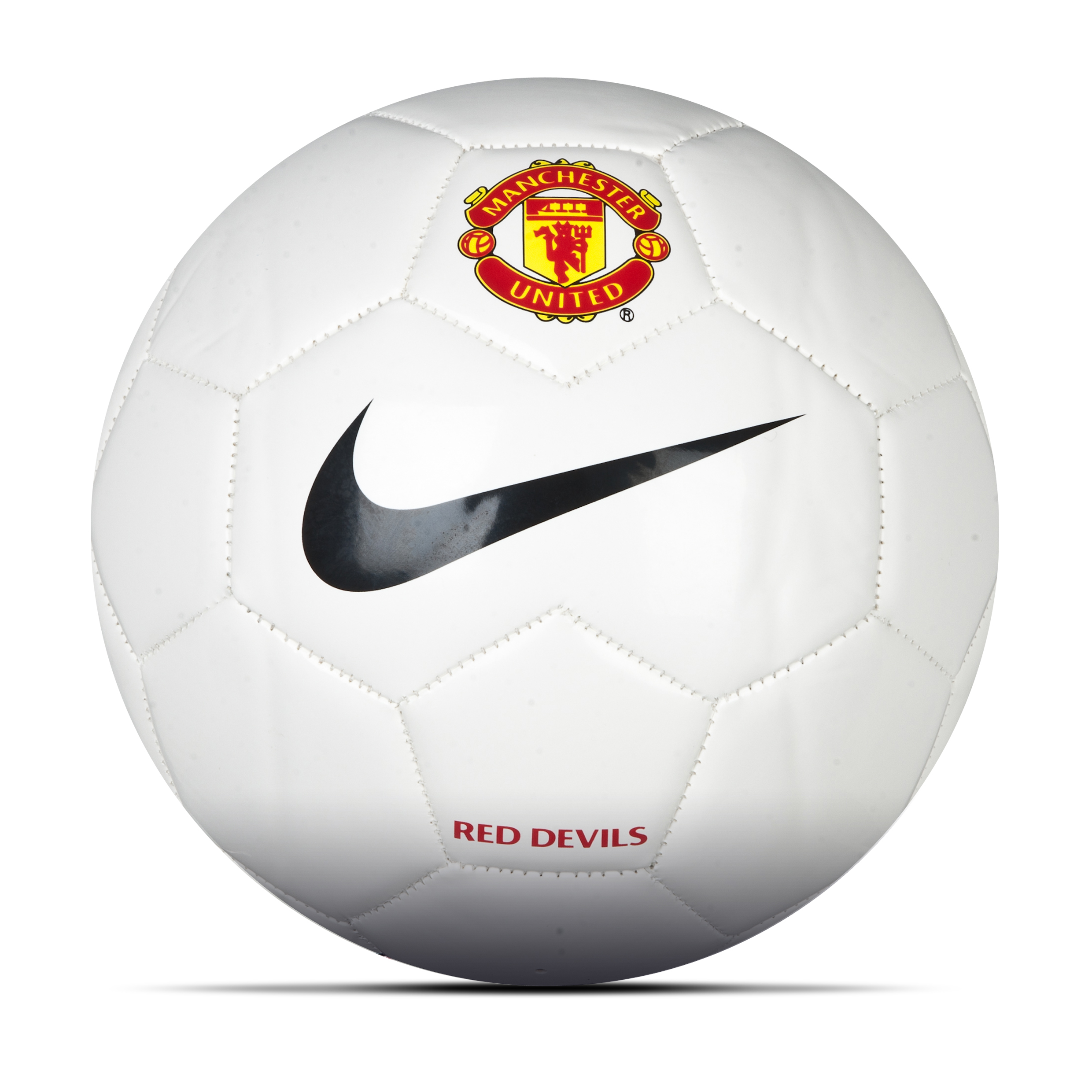 Manchester United Supporters Football - White/Black/Red White