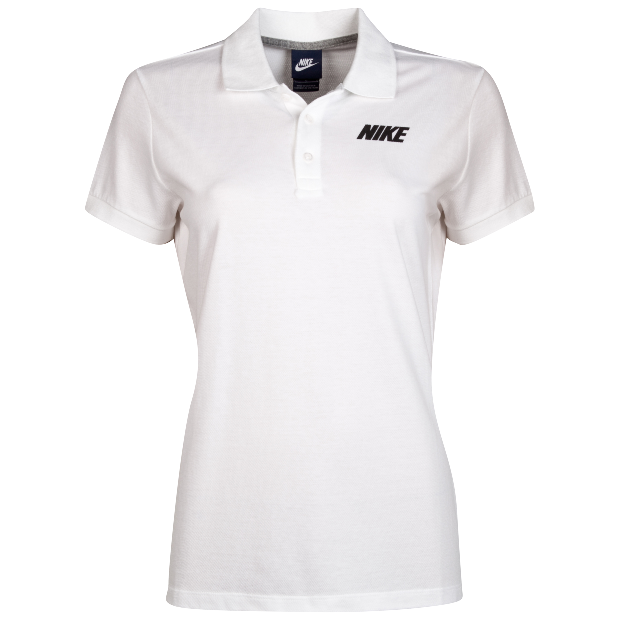 Manchester United Advantage Polo Womens White