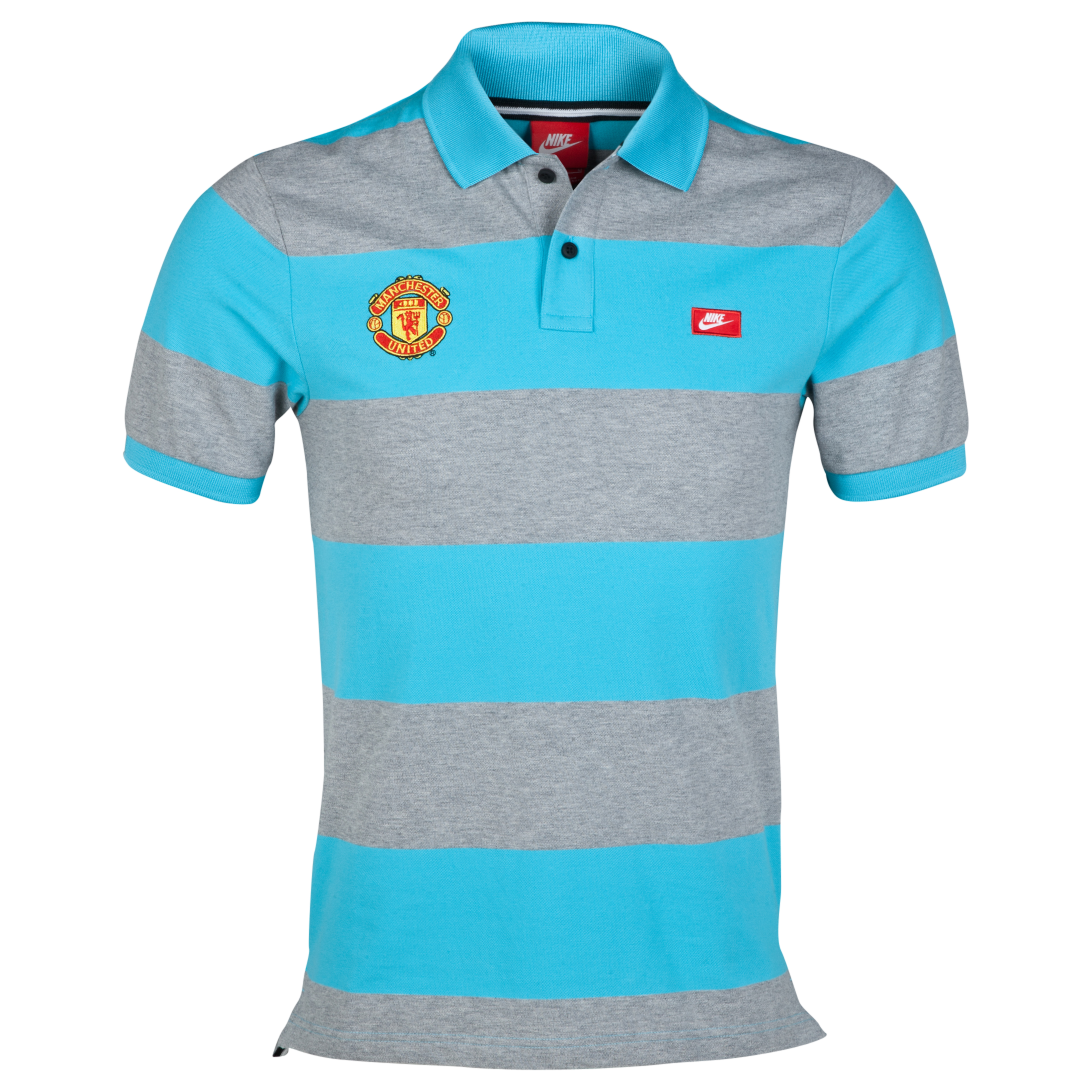 Manchester United Grand Slam Slim Polo - Gamma Blue Blue