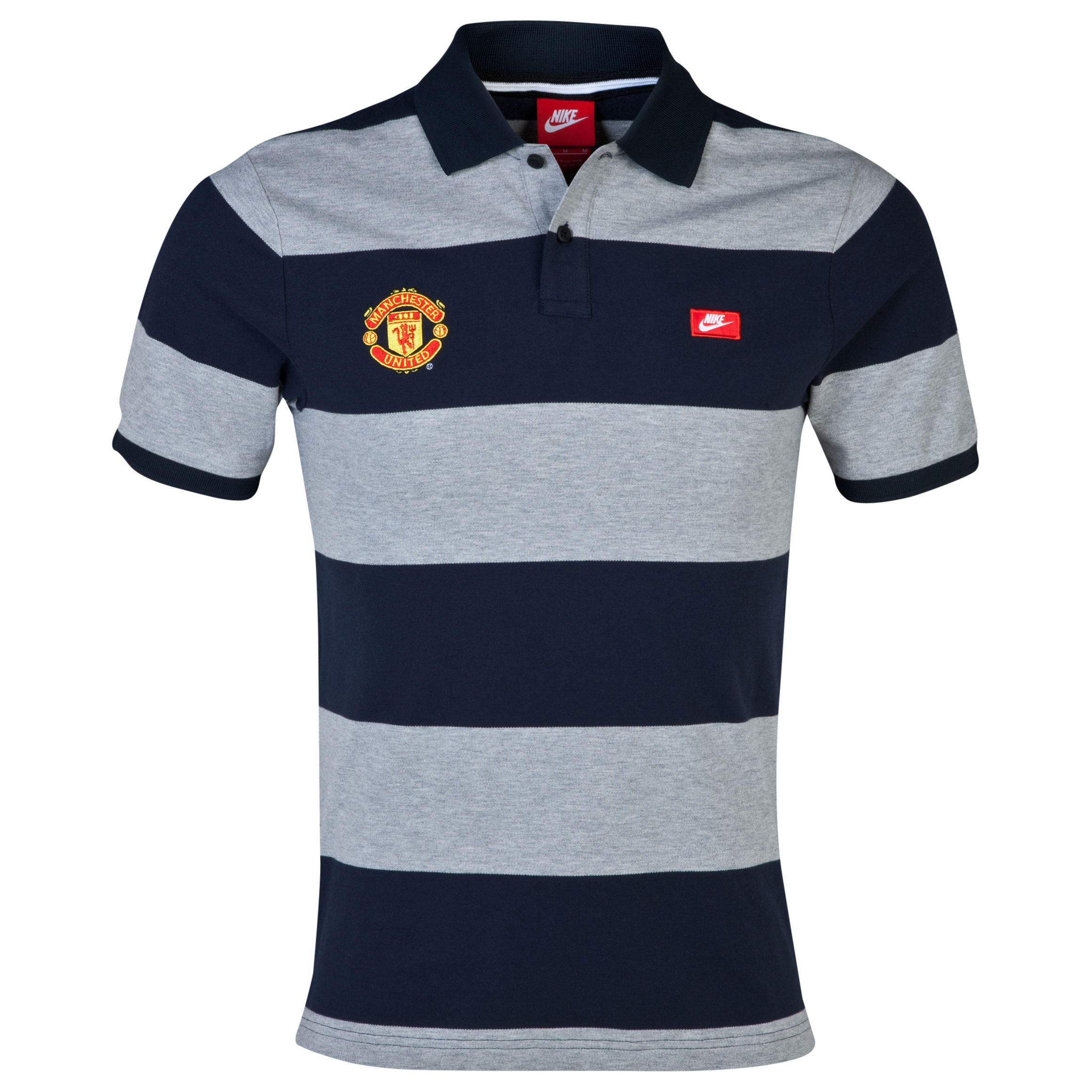 Manchester United Grand Slam Slim Polo - Dark Obsidian Dk Blue