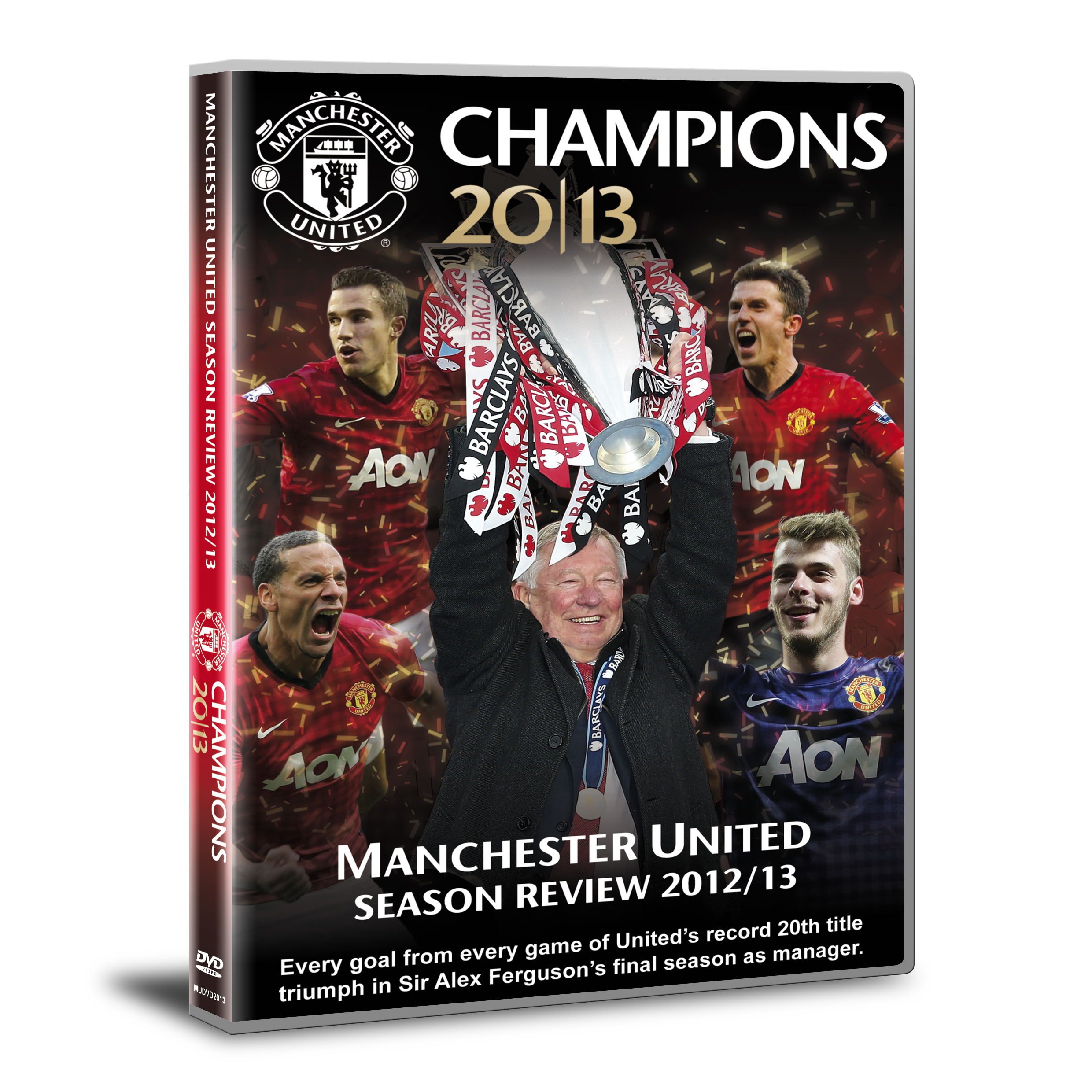 Manchester United 2012/13 Season Review DVD