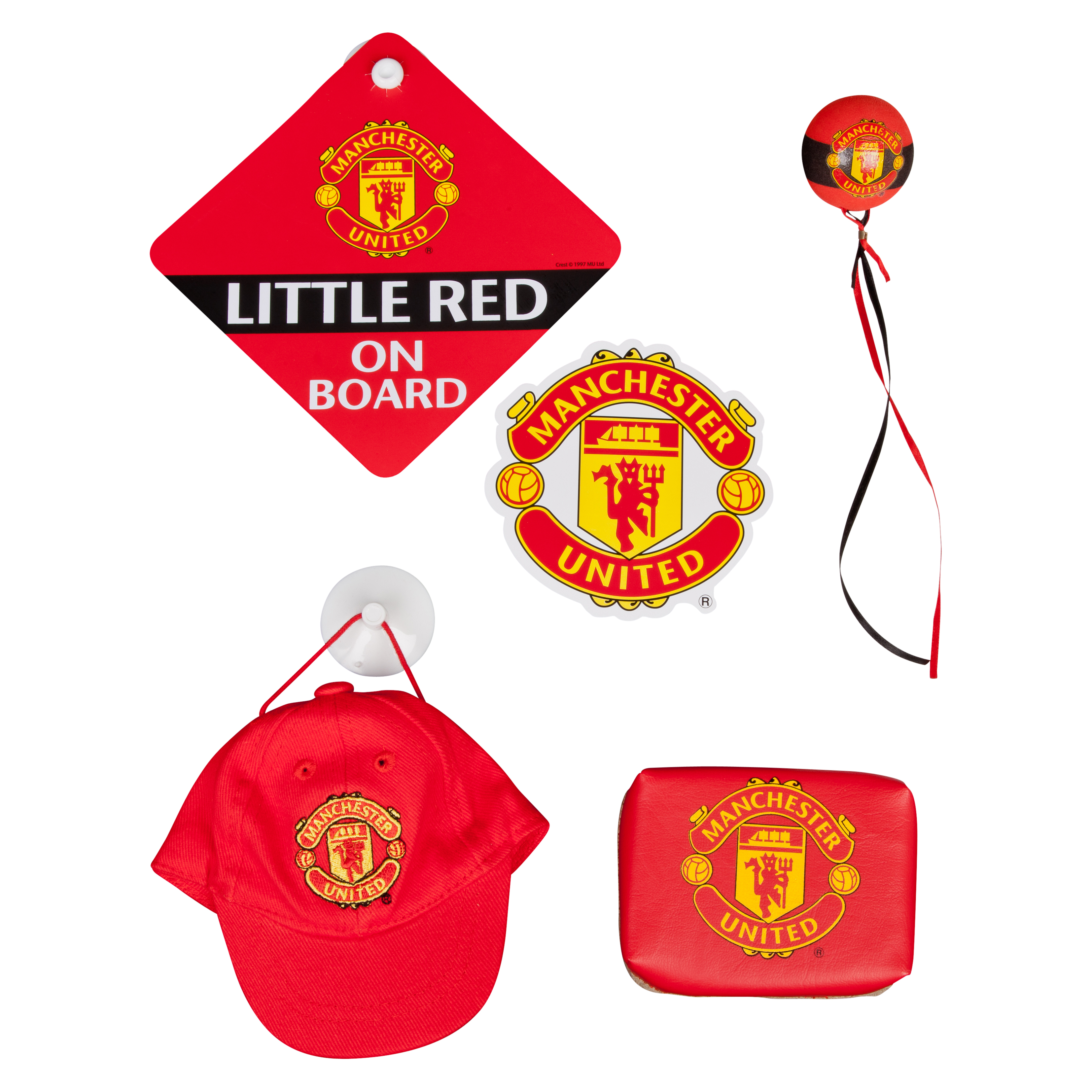 Manchester United Car Accessories Set