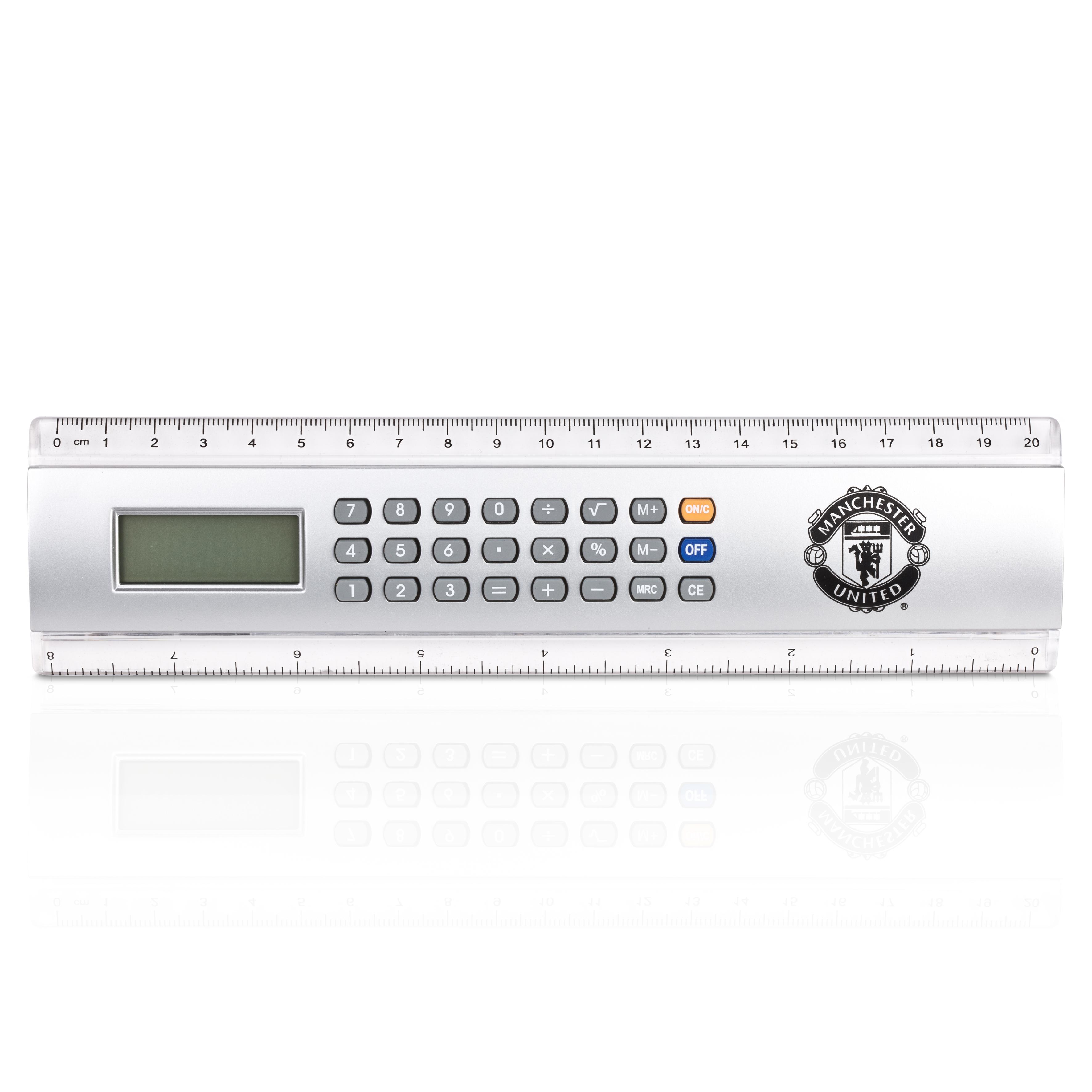 Manchester United Calculator Ruler