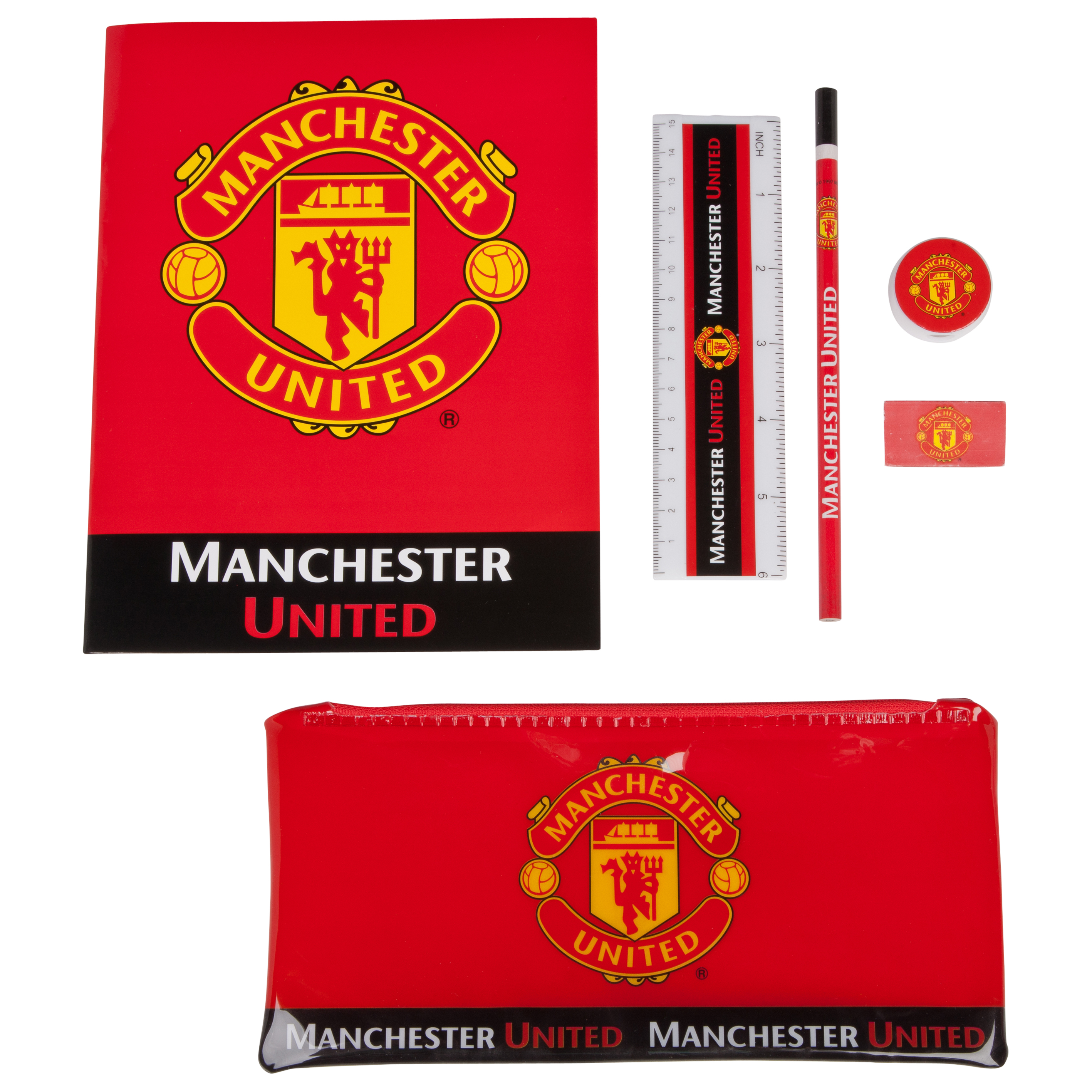 Manchester United School Stationery Set