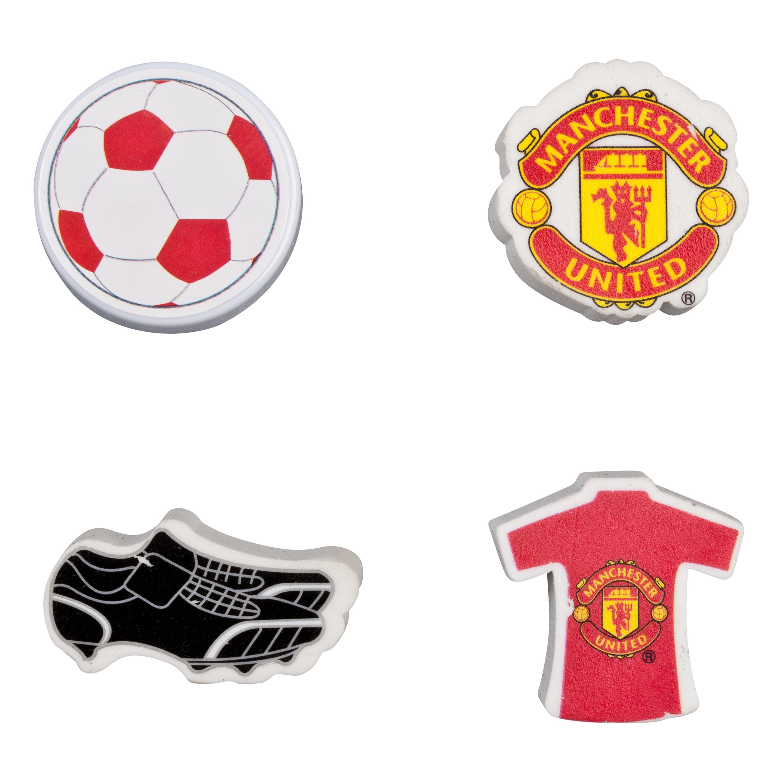 Manchester United Eraser and Sharpener Set