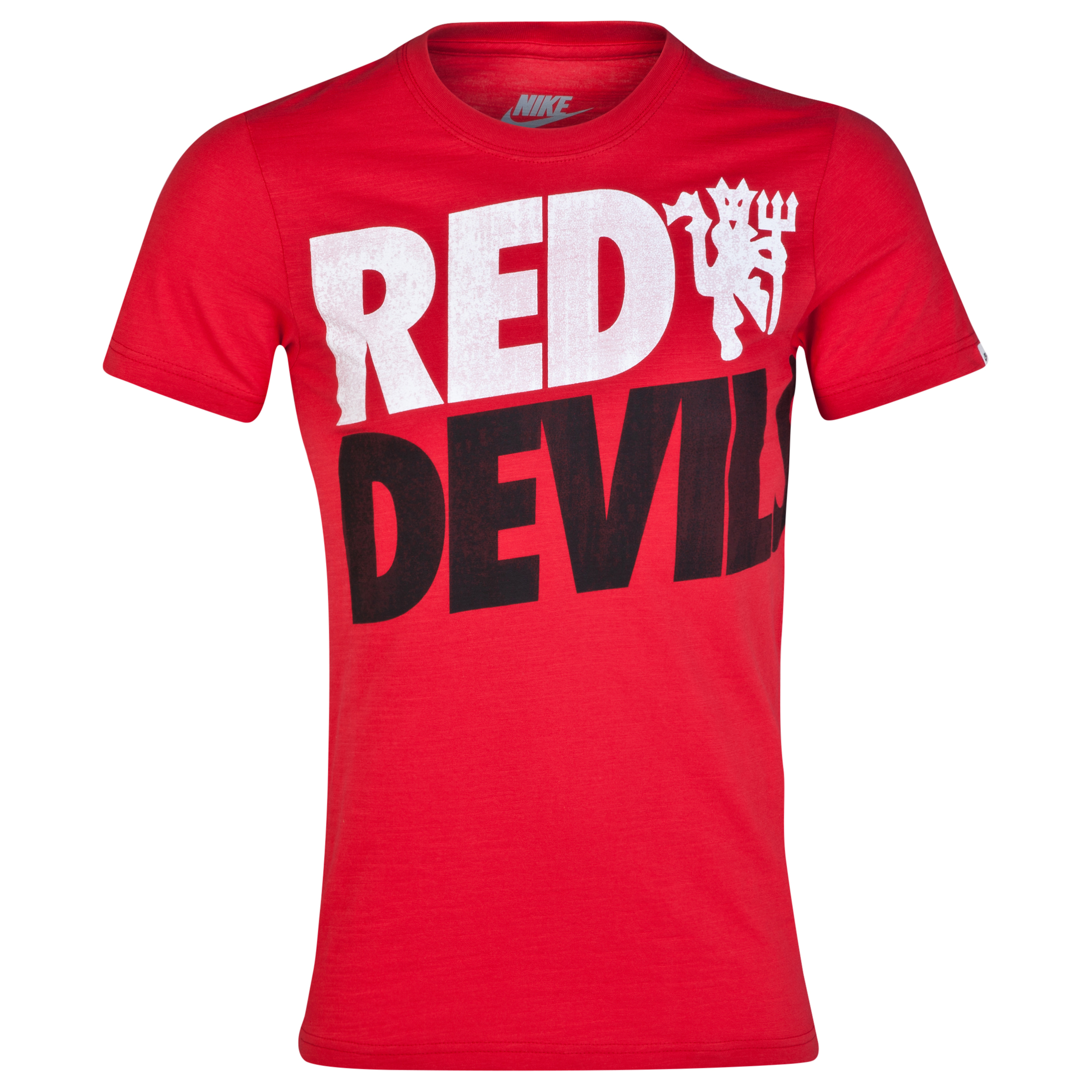 Manchester United Covert T-Shirt Red
